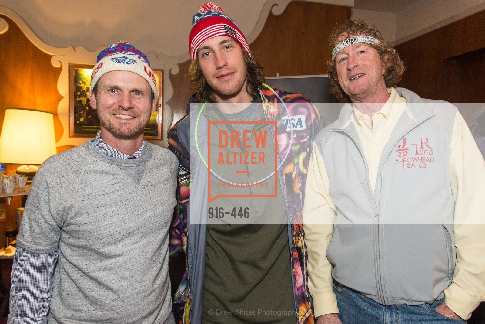 Greg Brockway, Bryce Bennett, Steve Berlack, U.S. Ski and Snowboard Foundation's Snow Ball, Bimbo's 365 Club. 1025 Columbus Ave, November 7th, 2015,Drew Altizer, Drew Altizer Photography, full-service agency, private events, San Francisco photographer, photographer california