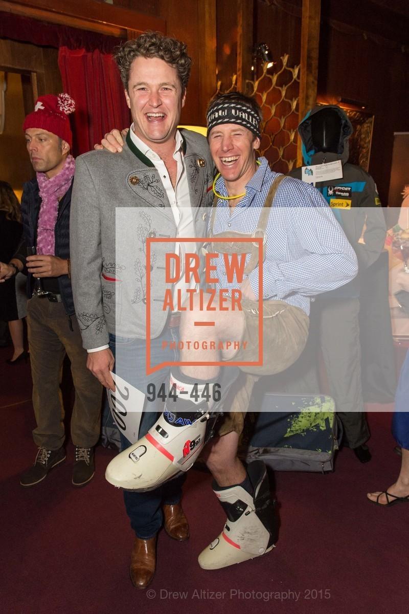 Gordon Gray, Marco Sullivan, U.S. Ski and Snowboard Foundation's Snow Ball, Bimbo's 365 Club. 1025 Columbus Ave, November 7th, 2015,Drew Altizer, Drew Altizer Photography, full-service agency, private events, San Francisco photographer, photographer california