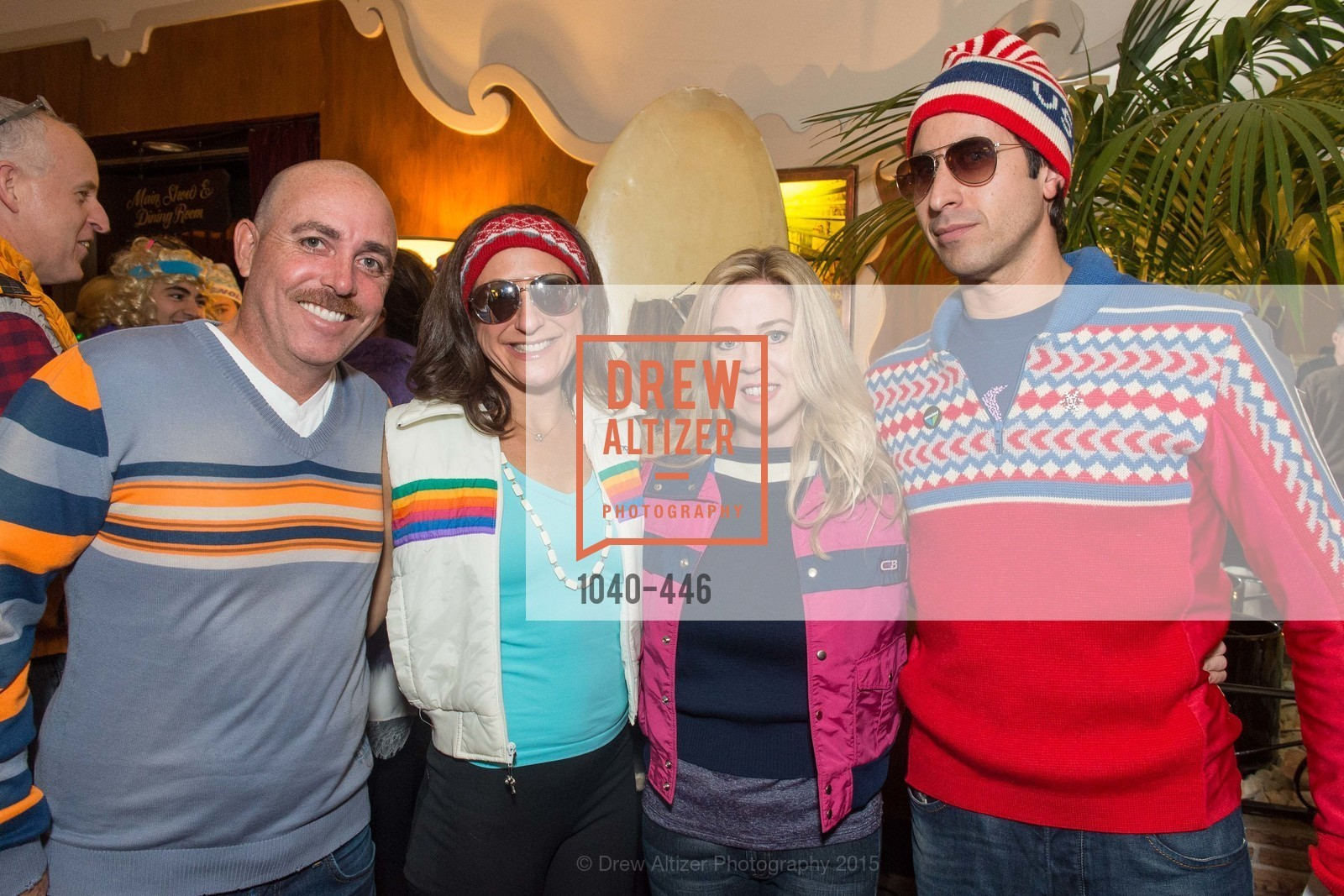 Greg Dade, Victoria Dade, Catherine Dowling, Marc Axelbaum, U.S. Ski and Snowboard Foundation's Snow Ball, Bimbo's 365 Club. 1025 Columbus Ave, November 7th, 2015