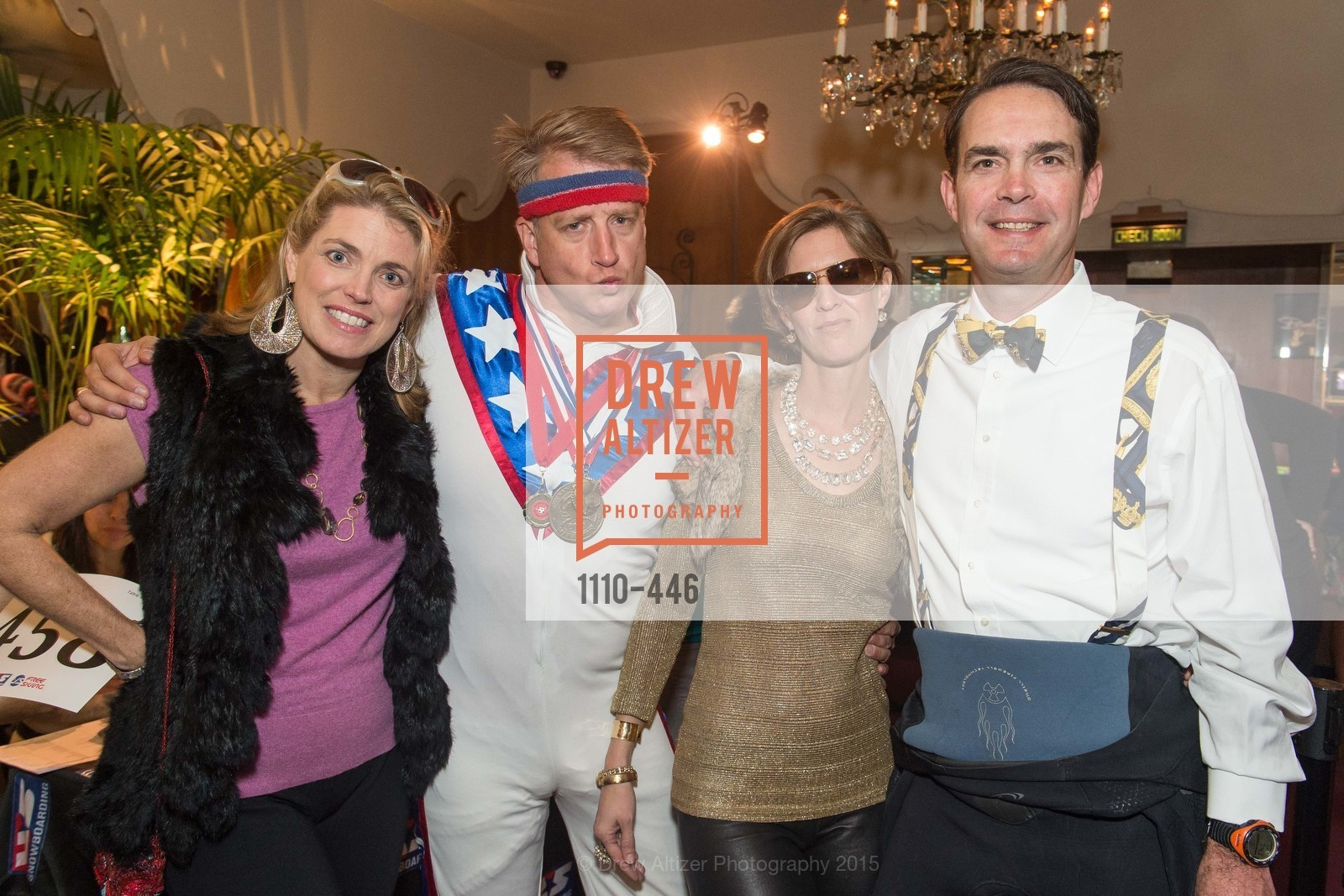 Mindy Fishbyne, Rodes Fishbyne, Claire Alt, Eric Alt, U.S. Ski and Snowboard Foundation's Snow Ball, Bimbo's 365 Club. 1025 Columbus Ave, November 7th, 2015,Drew Altizer, Drew Altizer Photography, full-service agency, private events, San Francisco photographer, photographer california