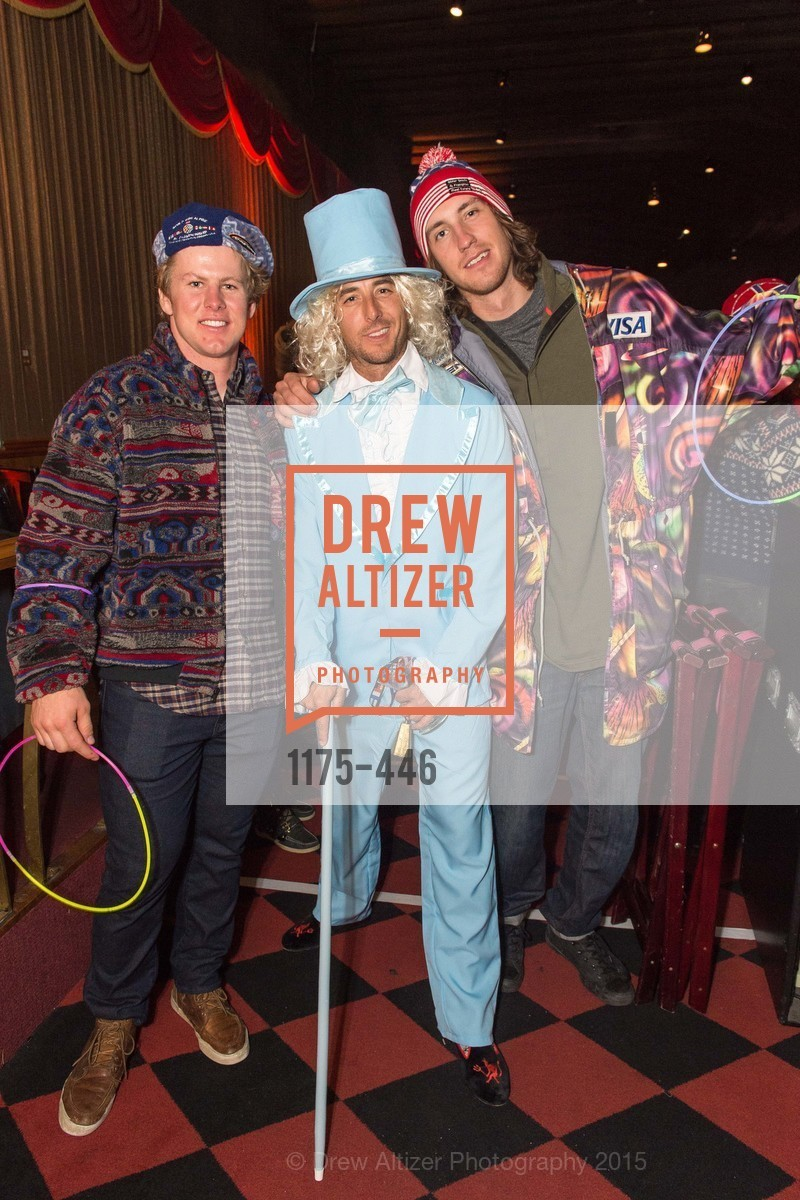 Erik Arvidsson, Jonny Moseley, Bryce Bennett, U.S. Ski and Snowboard Foundation's Snow Ball, Bimbo's 365 Club. 1025 Columbus Ave, November 7th, 2015,Drew Altizer, Drew Altizer Photography, full-service agency, private events, San Francisco photographer, photographer california
