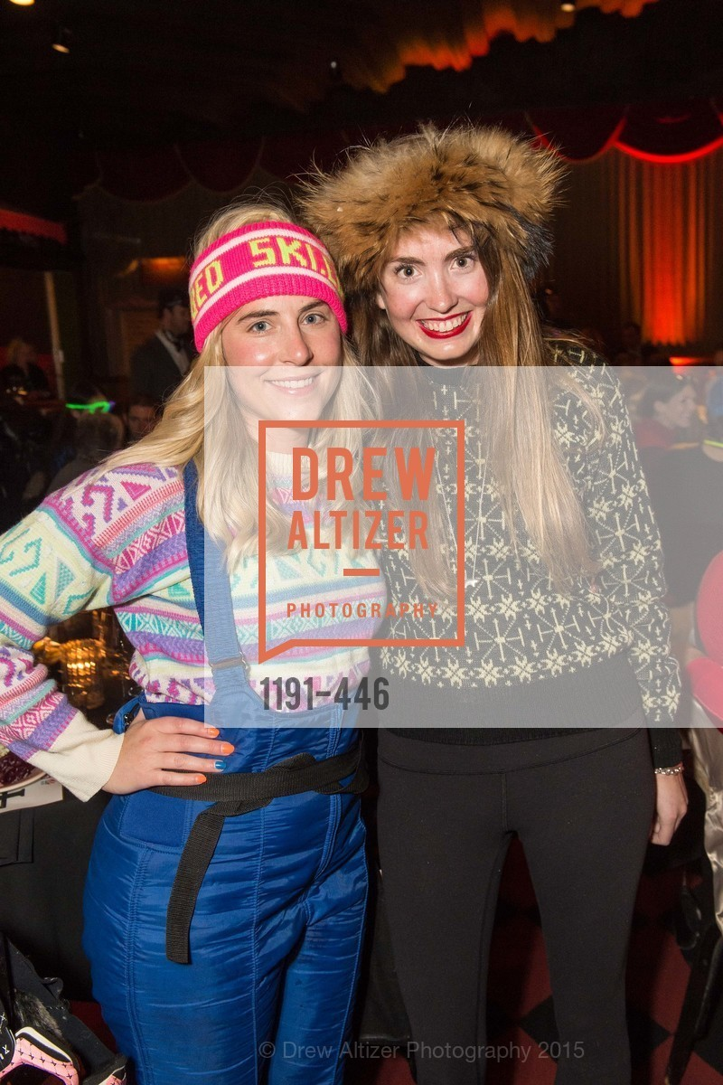 Meredith Keith, Hillary Trockmow, U.S. Ski and Snowboard Foundation's Snow Ball, Bimbo's 365 Club. 1025 Columbus Ave, November 7th, 2015,Drew Altizer, Drew Altizer Photography, full-service agency, private events, San Francisco photographer, photographer california