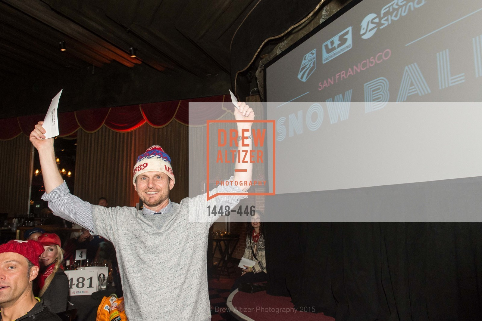 Greg Brockway, U.S. Ski and Snowboard Foundation's Snow Ball, Bimbo's 365 Club. 1025 Columbus Ave, November 7th, 2015,Drew Altizer, Drew Altizer Photography, full-service agency, private events, San Francisco photographer, photographer california