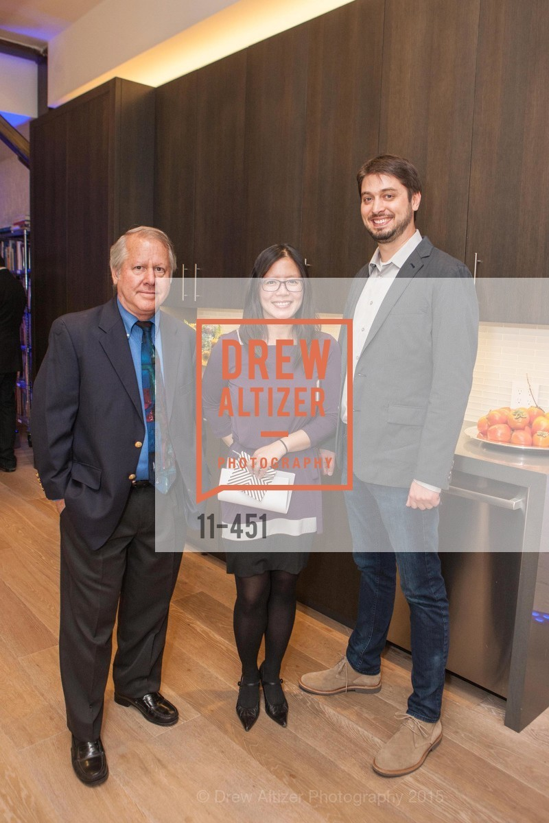 Steve Goldfarb, Pam Lao, Chris Schweckendiek, Healdsburg Dream Estates Cocktail Party, Taylor Lombardo. 40 Hotaling Place, November 5th, 2015,Drew Altizer, Drew Altizer Photography, full-service event agency, private events, San Francisco photographer, photographer California