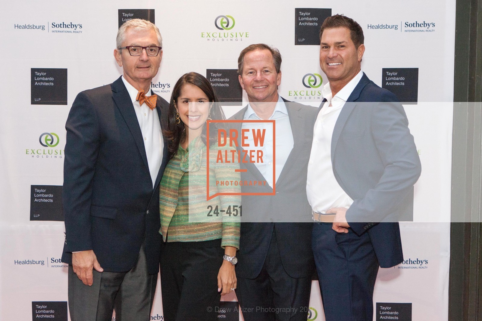 Alain-Martin Pierret, Tatiana McWilliams, Graham Sarasy, Michael Pavelka, Healdsburg Dream Estates Cocktail Party, Taylor Lombardo. 40 Hotaling Place, November 5th, 2015,Drew Altizer, Drew Altizer Photography, full-service agency, private events, San Francisco photographer, photographer california