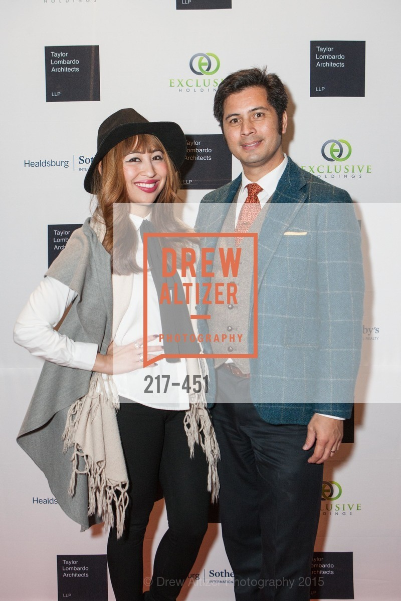 Charlotte Mayang, Rafael Musni, Healdsburg Dream Estates Cocktail Party, Taylor Lombardo. 40 Hotaling Place, November 5th, 2015,Drew Altizer, Drew Altizer Photography, full-service agency, private events, San Francisco photographer, photographer california