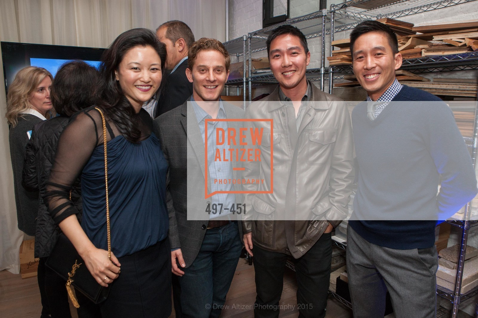 Catherine Kwong, Michael Cello, Billy Lee, Brian Kwong, Healdsburg Dream Estates Cocktail Party, Taylor Lombardo. 40 Hotaling Place, November 5th, 2015,Drew Altizer, Drew Altizer Photography, full-service agency, private events, San Francisco photographer, photographer california