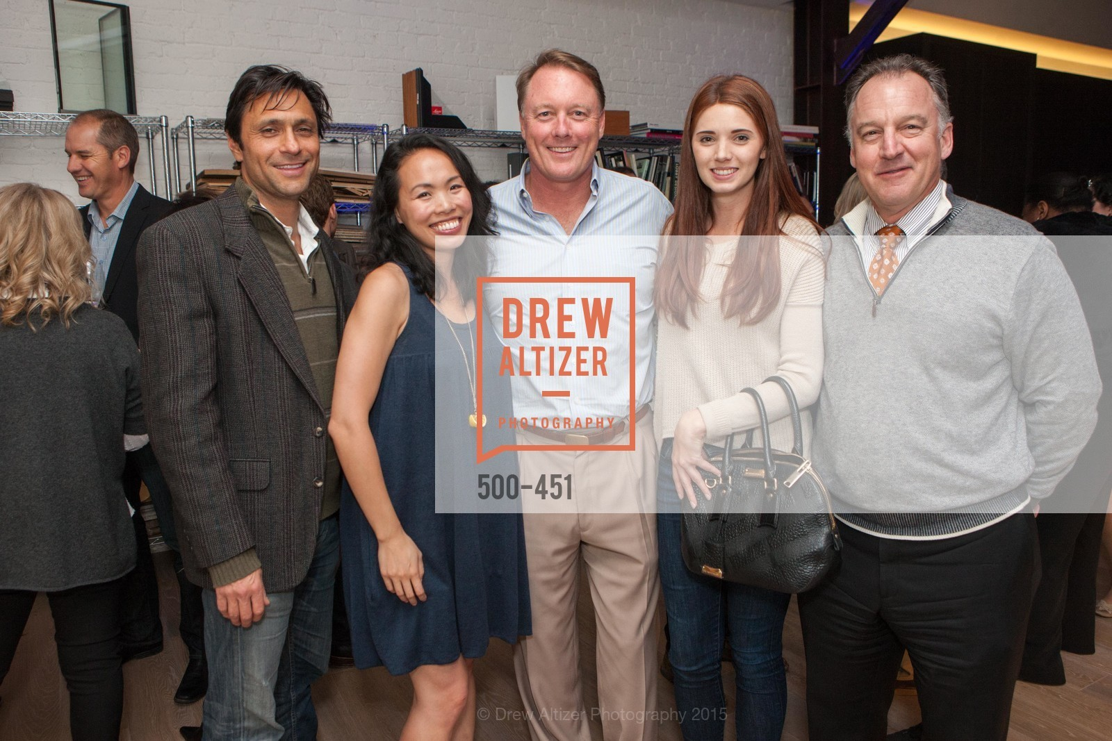 Michael Chidambaram, Shirley Chan, Andrew Thompson, Felicia Terwilliger, Healdsburg Dream Estates Cocktail Party, Taylor Lombardo. 40 Hotaling Place, November 5th, 2015,Drew Altizer, Drew Altizer Photography, full-service agency, private events, San Francisco photographer, photographer california