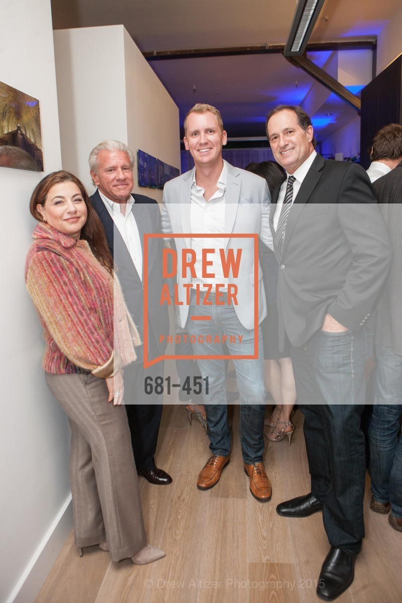 Lydia Sarkissian, Bill Bullock, Andrew Greenwell, Art Gilberg, Healdsburg Dream Estates Cocktail Party, Taylor Lombardo. 40 Hotaling Place, November 5th, 2015,Drew Altizer, Drew Altizer Photography, full-service agency, private events, San Francisco photographer, photographer california