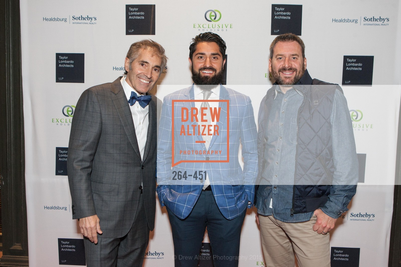 Maurice Lambardo, Roh Habibi, Jay Bakaler, Healdsburg Dream Estates Cocktail Party, Taylor Lombardo. 40 Hotaling Place, November 5th, 2015,Drew Altizer, Drew Altizer Photography, full-service agency, private events, San Francisco photographer, photographer california