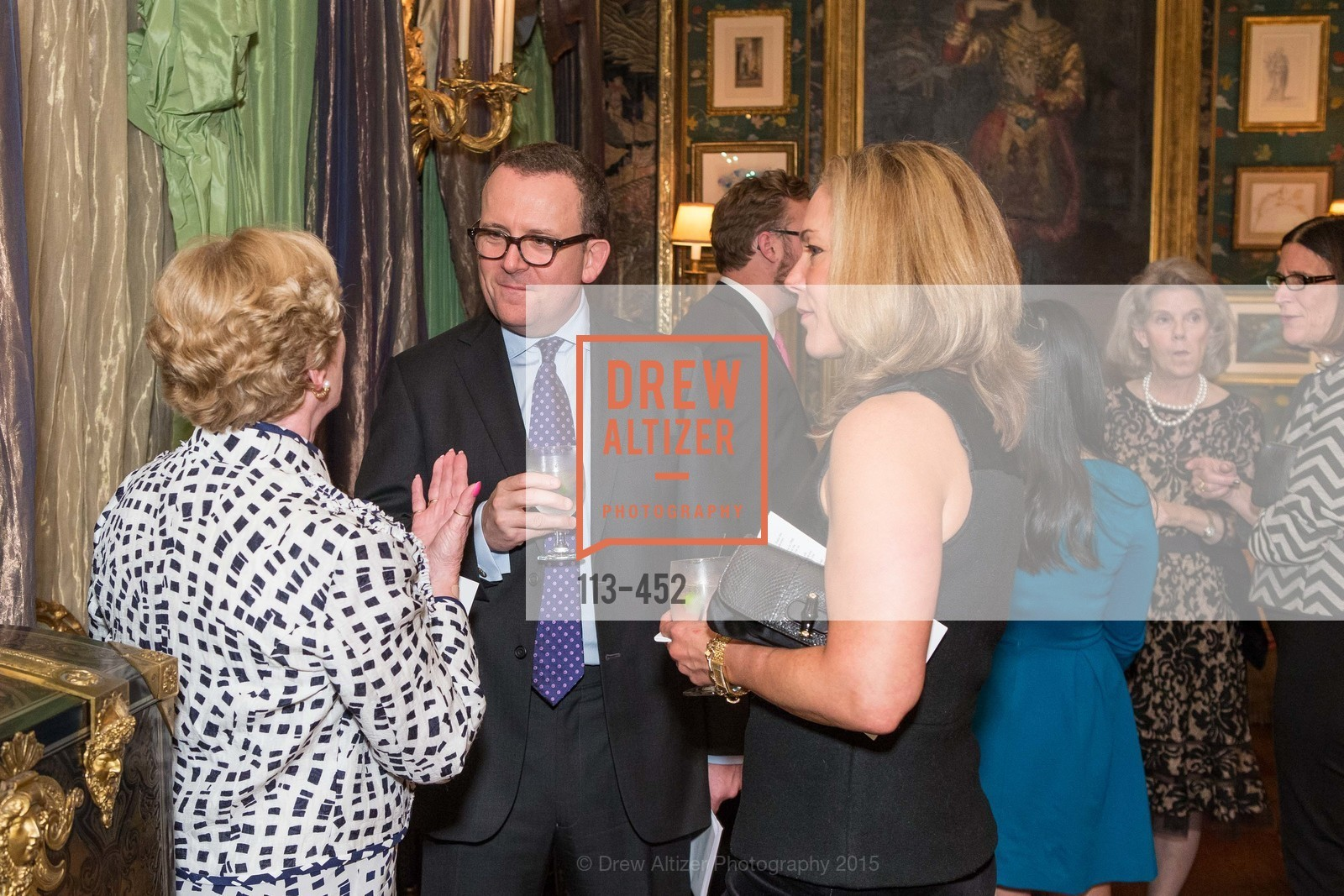 Carol Hickingbotham, Andrew McVinish, Darayn Hickingbotham, Getty Hosts the Africa Foundation, Private Residence. 2525 Van Ness St, November 5th, 2015,Drew Altizer, Drew Altizer Photography, full-service agency, private events, San Francisco photographer, photographer california