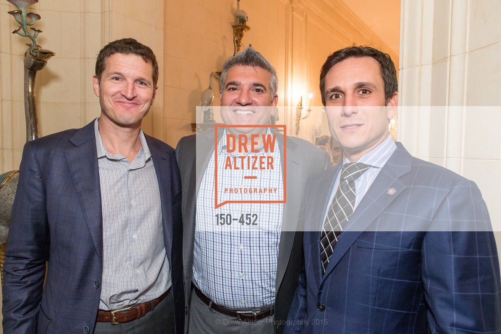 Will Marks, Michael Gaito, Patrick Malkassian, Getty Hosts the Africa Foundation, Private Residence. 2525 Van Ness St, November 5th, 2015,Drew Altizer, Drew Altizer Photography, full-service agency, private events, San Francisco photographer, photographer california
