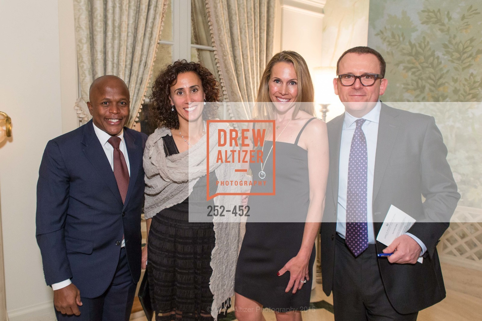 Bheki Ntuli, Jane Gaito, Alex Lyon, Andrew McVinish, Getty Hosts the Africa Foundation, Private Residence. 2525 Van Ness St, November 5th, 2015,Drew Altizer, Drew Altizer Photography, full-service agency, private events, San Francisco photographer, photographer california