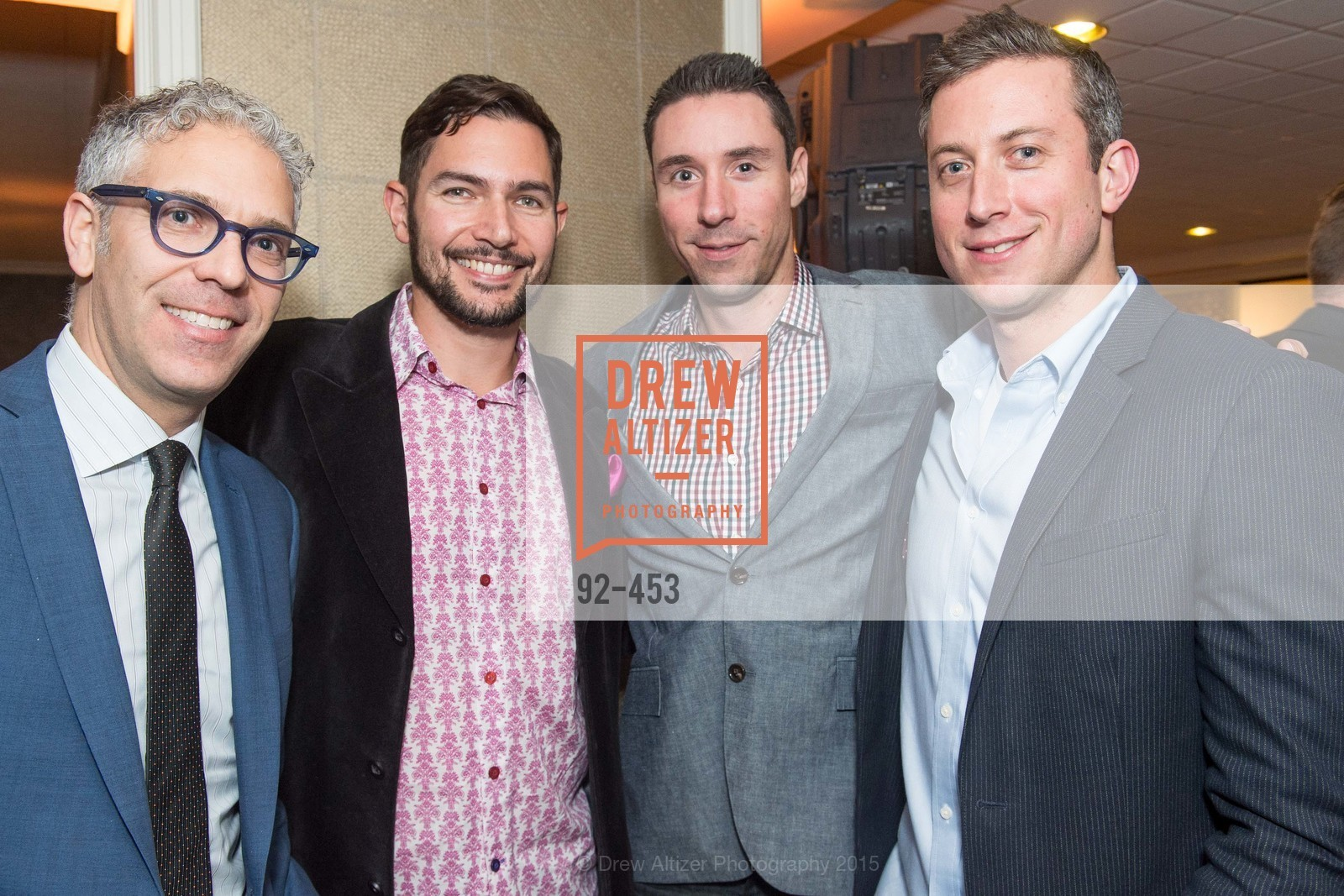 Jay Cherin, Matt Winters, Nathan Winkel, Michael Berl, The 2015 StartOut Awards, Kabuki Hotel. 2525 Van Ness St, November 5th, 2015,Drew Altizer, Drew Altizer Photography, full-service agency, private events, San Francisco photographer, photographer california