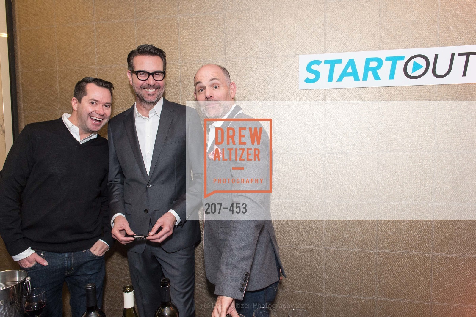 Stan Hornbach, Joey Wolosz, Jeff Durham, The 2015 StartOut Awards, Kabuki Hotel. 2525 Van Ness St, November 5th, 2015,Drew Altizer, Drew Altizer Photography, full-service agency, private events, San Francisco photographer, photographer california