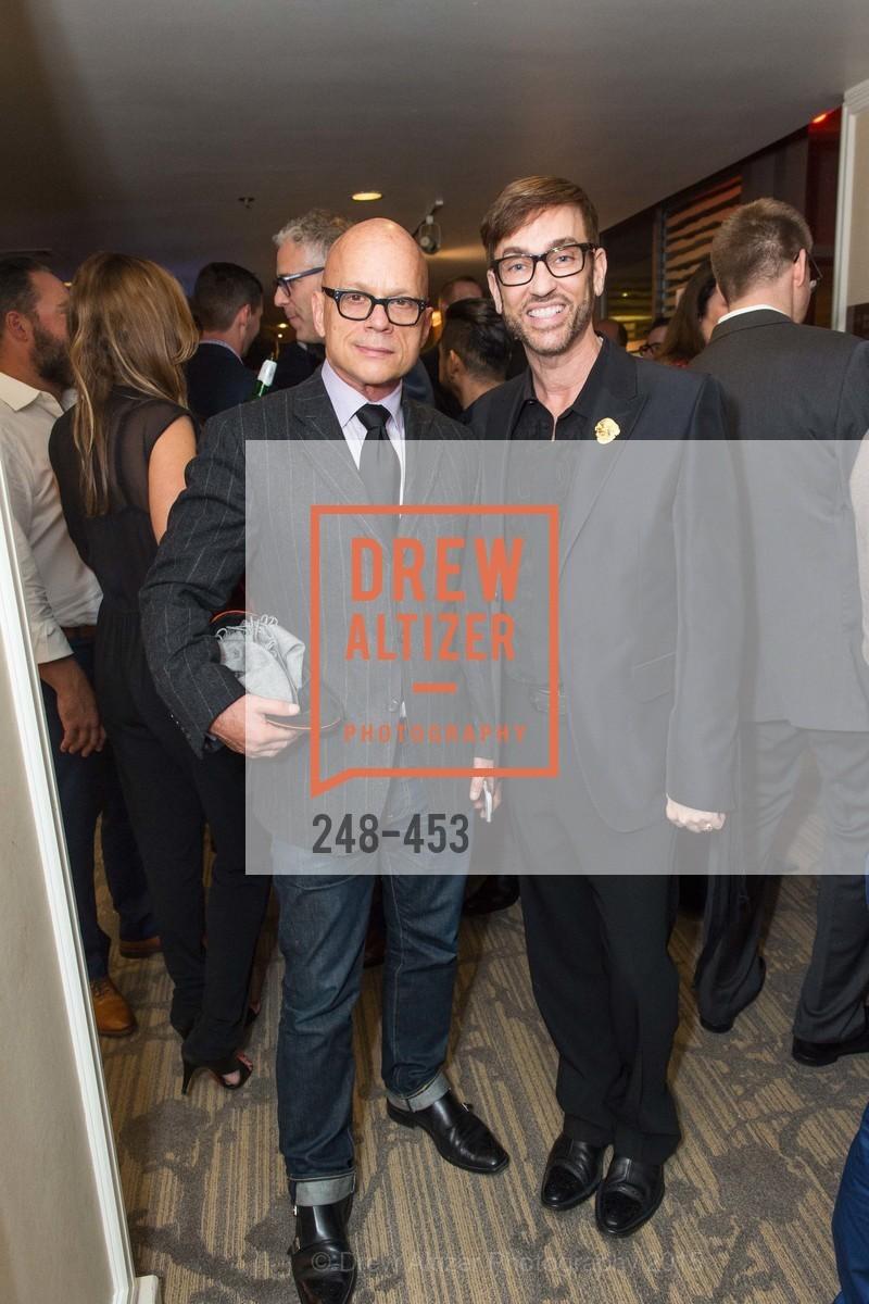 Kevin Sessumy, Chris Sinton, The 2015 StartOut Awards, Kabuki Hotel. 2525 Van Ness St, November 5th, 2015
