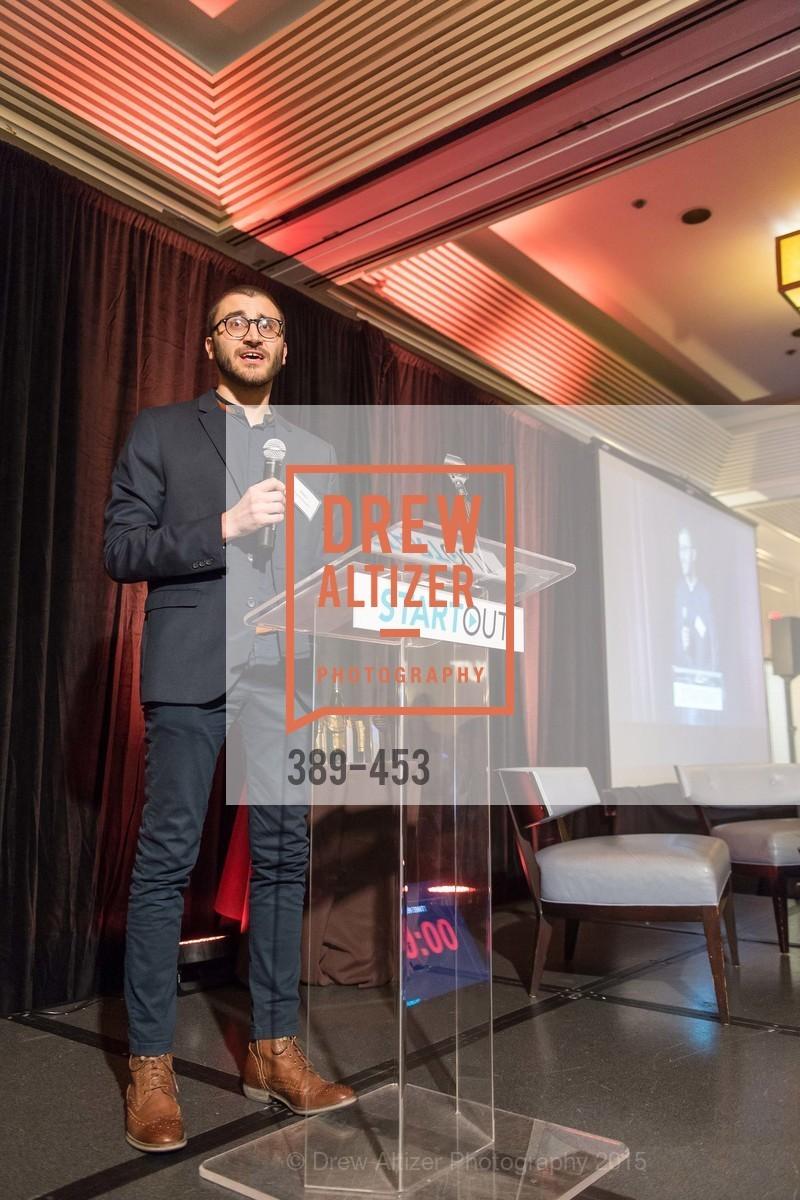 Aleks Yukasinovic, The 2015 StartOut Awards, Kabuki Hotel. 2525 Van Ness St, November 5th, 2015,Drew Altizer, Drew Altizer Photography, full-service agency, private events, San Francisco photographer, photographer california