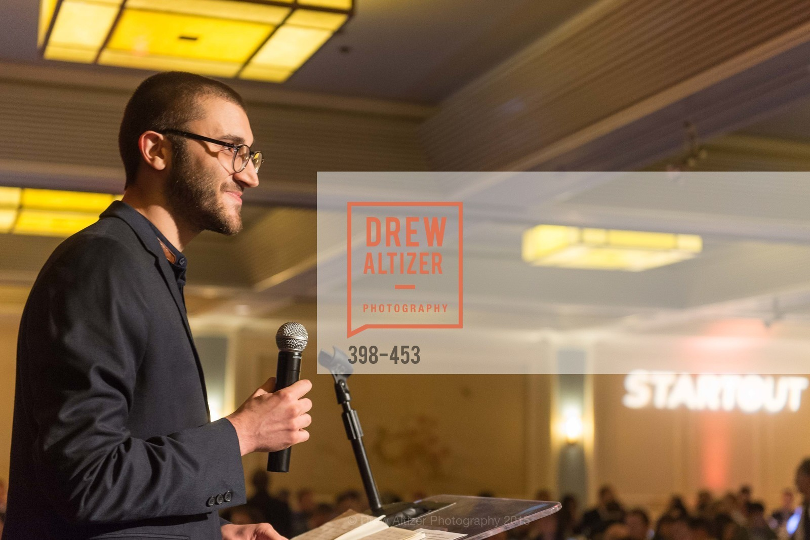 Aleks Yukasinovic, The 2015 StartOut Awards, Kabuki Hotel. 2525 Van Ness St, November 5th, 2015,Drew Altizer, Drew Altizer Photography, full-service agency, private events, San Francisco photographer, photographer california