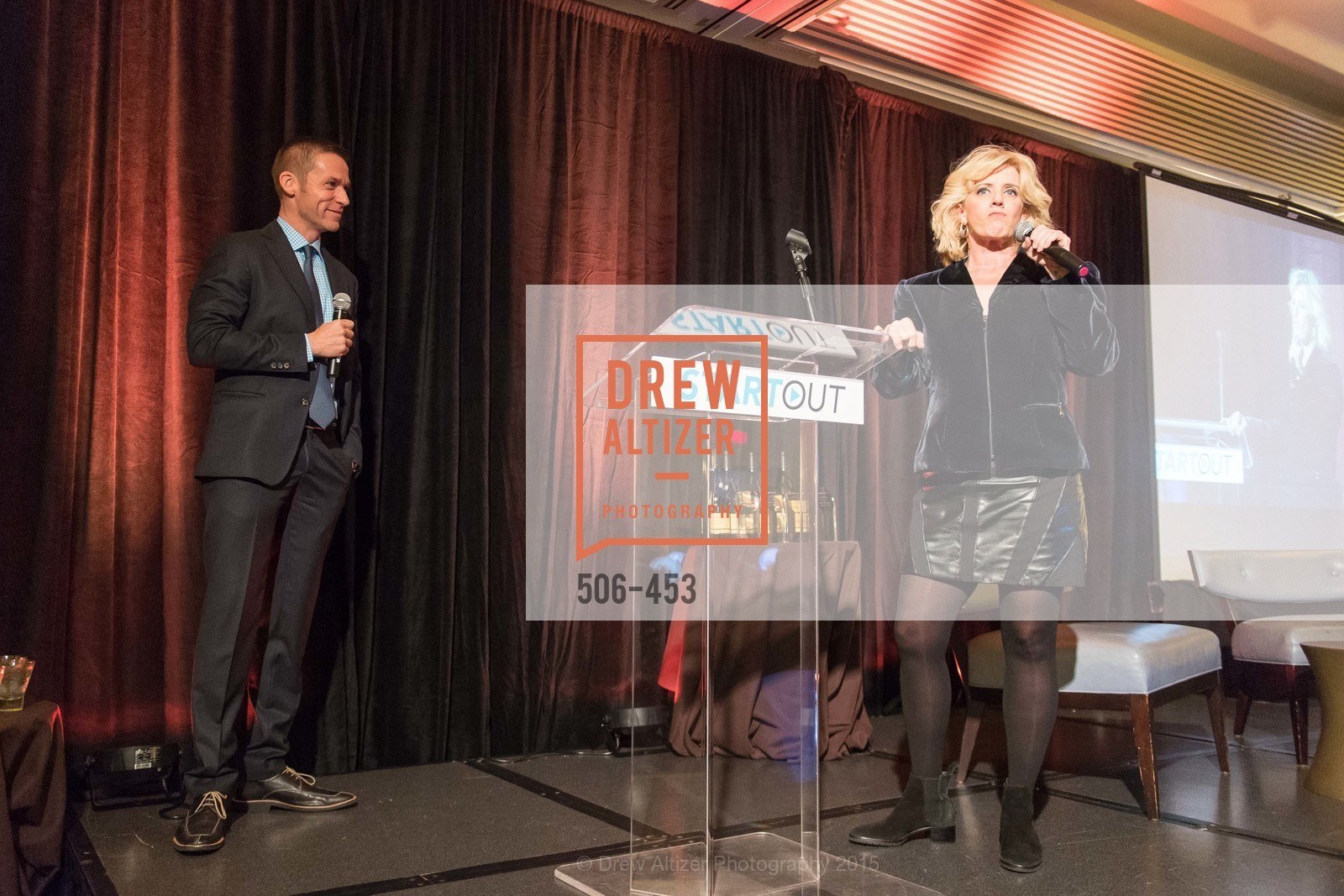 Andres Wydler, Suzanne Westenhoefer, The 2015 StartOut Awards, Kabuki Hotel. 2525 Van Ness St, November 5th, 2015,Drew Altizer, Drew Altizer Photography, full-service agency, private events, San Francisco photographer, photographer california