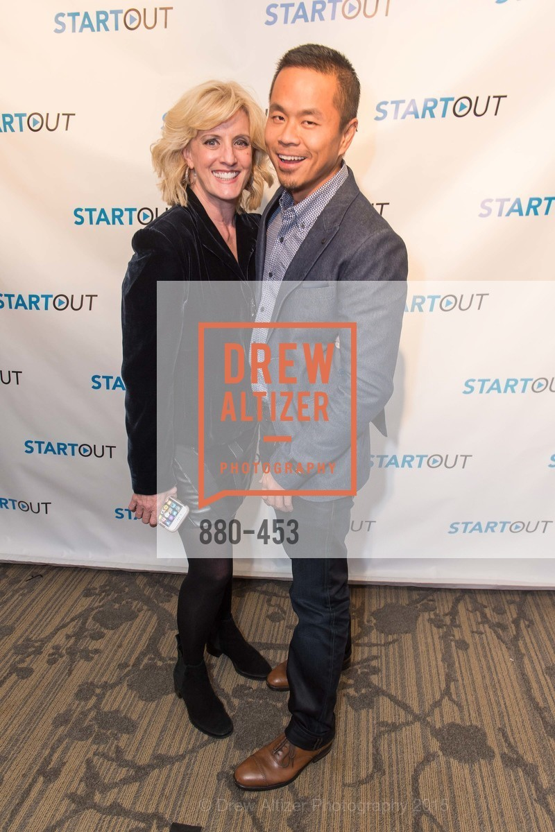 Suzanne Westenhoefer, Peter Lai, The 2015 StartOut Awards, Kabuki Hotel. 2525 Van Ness St, November 5th, 2015