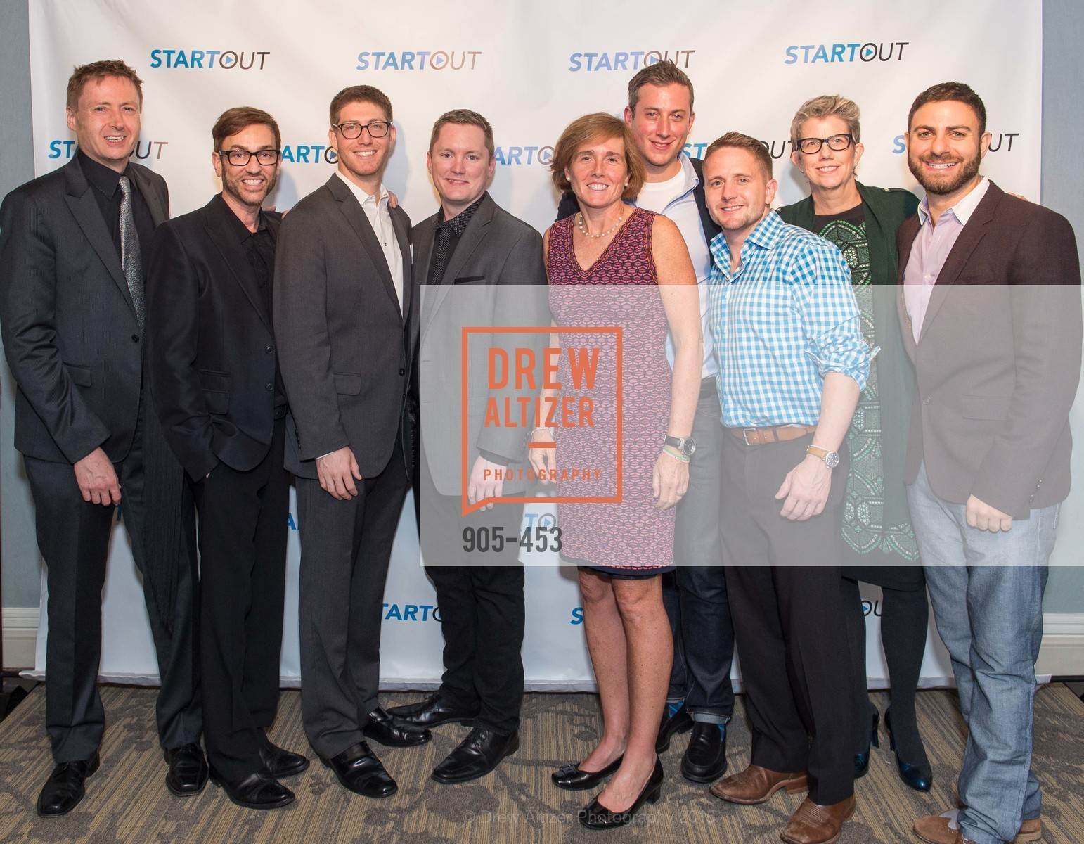 Michael Witbrock, Chris Sinton, Lorenzo Thione, Patrick Grosso, Carla McKay, Michael Berl, James Bain, Mary Shea, Joe Dipasquale, The 2015 StartOut Awards, Kabuki Hotel. 2525 Van Ness St, November 5th, 2015,Drew Altizer, Drew Altizer Photography, full-service agency, private events, San Francisco photographer, photographer california