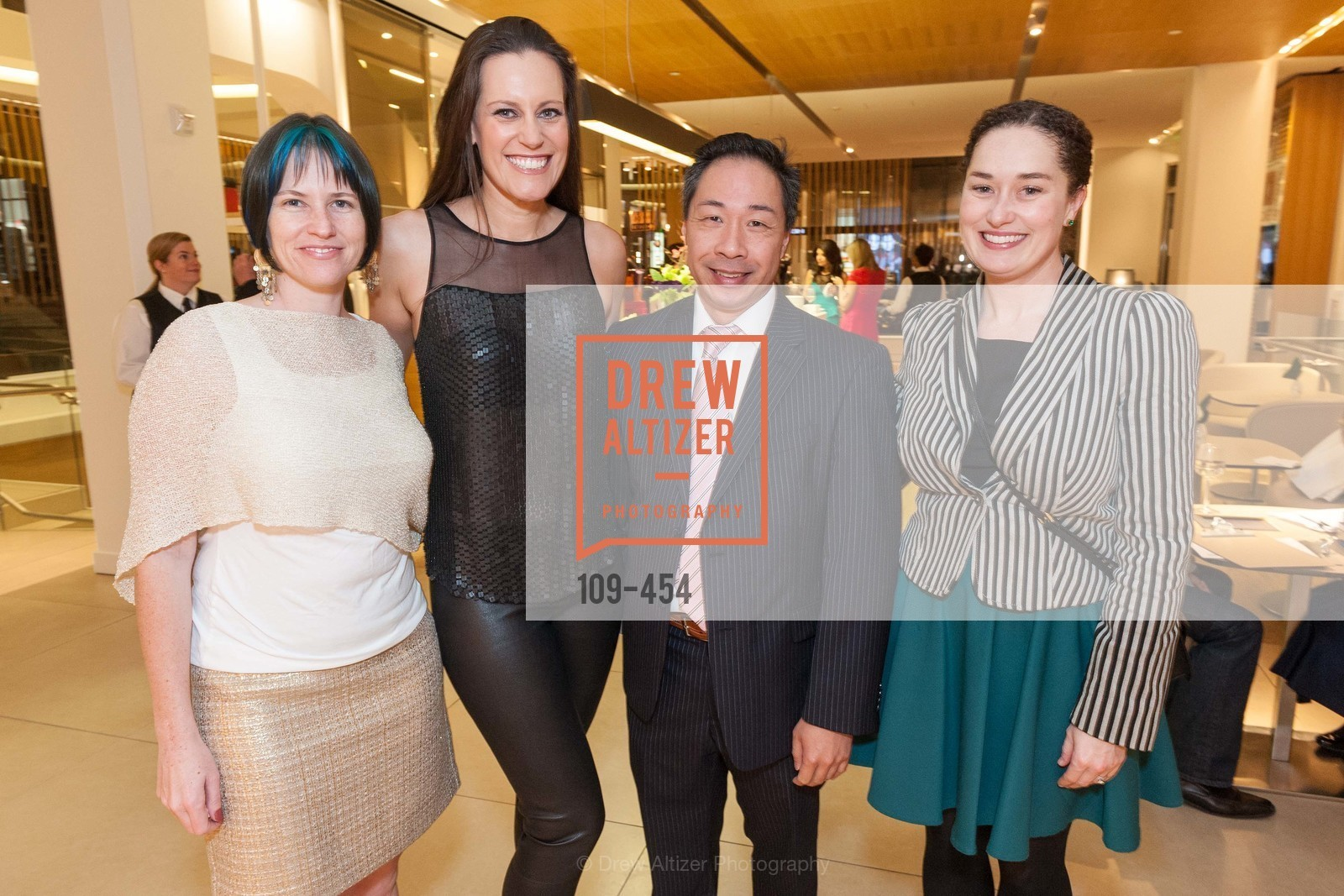 Joanna Winter, Ashley Tudor, Wilson Yan, Bridget Dixon, 2014 SAN FRANCISCO BALLET ENCORE! Kick-Off Party, US. Nespresso Boutique Bar, 90 Grant Avenue, January 7th, 2014,Drew Altizer, Drew Altizer Photography, full-service agency, private events, San Francisco photographer, photographer california