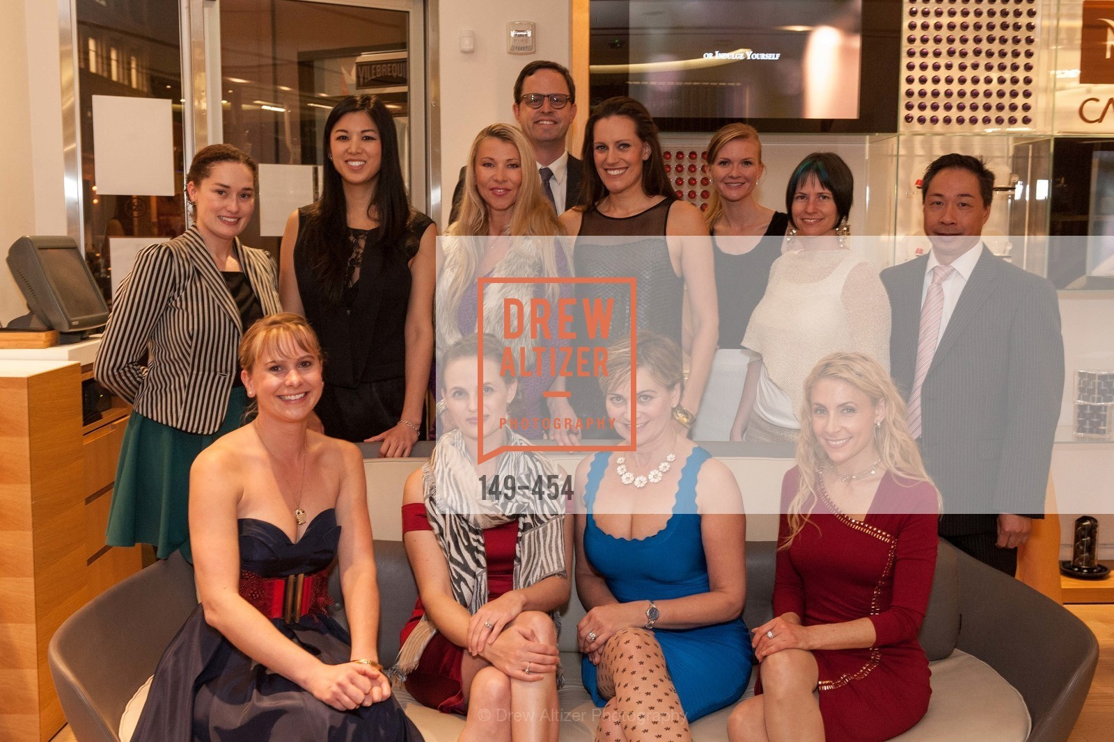 Bridget Dixon, Kelly Cramer, Emily Hu, Alyson Blume, Lena Gikkas, Justin Bank, Ashley Tudor, Jane Burkhard, Greer Goings, Joanna Winter, Robin Farmanfarmaian, Wilson Yan, 2014 SAN FRANCISCO BALLET ENCORE! Kick-Off Party, US. Nespresso Boutique Bar, 90 Grant Avenue, January 7th, 2014,Drew Altizer, Drew Altizer Photography, full-service agency, private events, San Francisco photographer, photographer california
