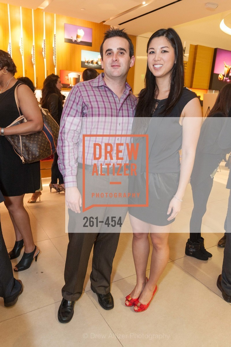 Barrett Akin, Emily Hu, 2014 SAN FRANCISCO BALLET ENCORE! Kick-Off Party, US. Nespresso Boutique Bar, 90 Grant Avenue, January 7th, 2014,Drew Altizer, Drew Altizer Photography, full-service agency, private events, San Francisco photographer, photographer california