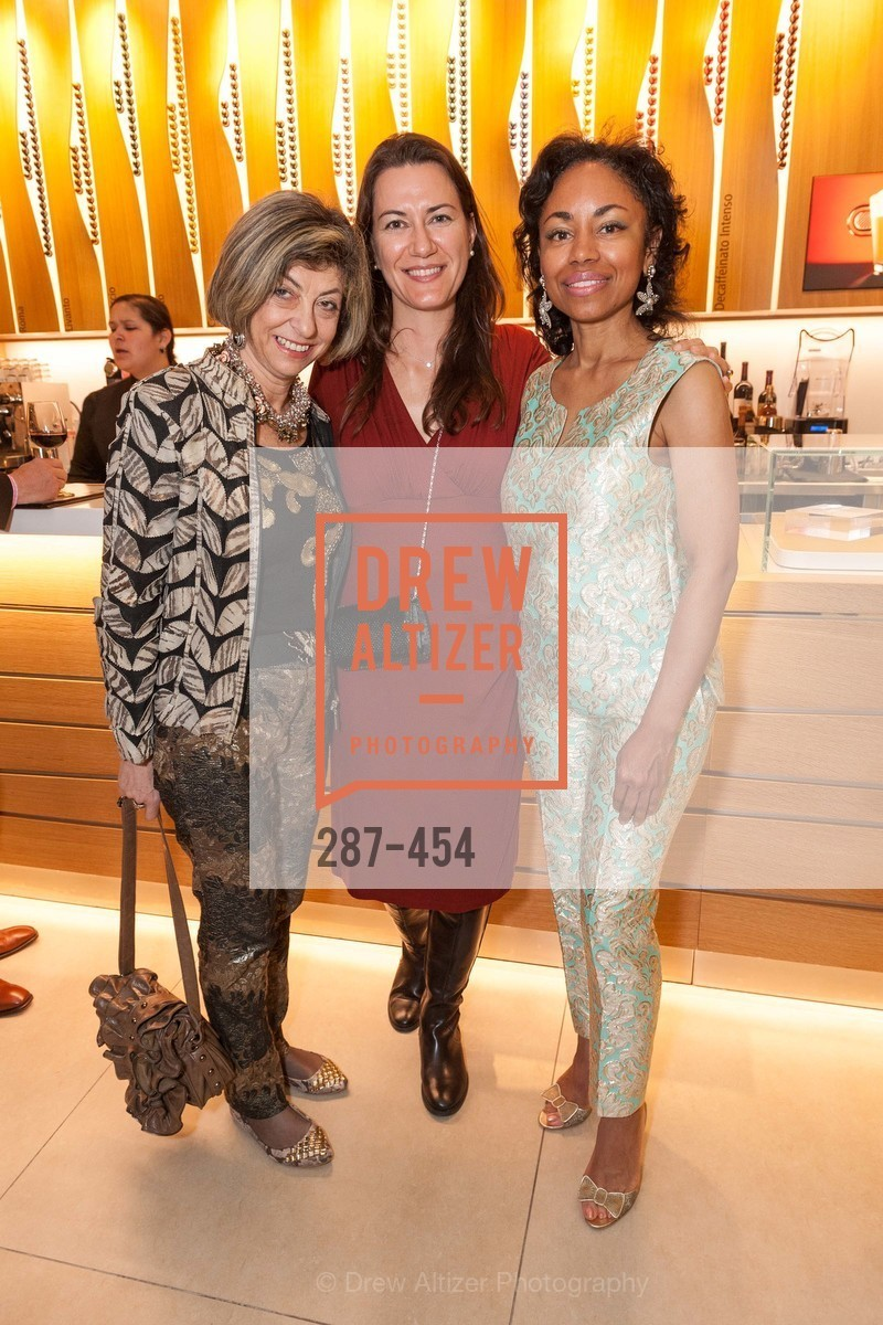 Ludmila Eggleton, Zumra Maner, Tanya Powell, 2014 SAN FRANCISCO BALLET ENCORE! Kick-Off Party, US. Nespresso Boutique Bar, 90 Grant Avenue, January 7th, 2014,Drew Altizer, Drew Altizer Photography, full-service agency, private events, San Francisco photographer, photographer california