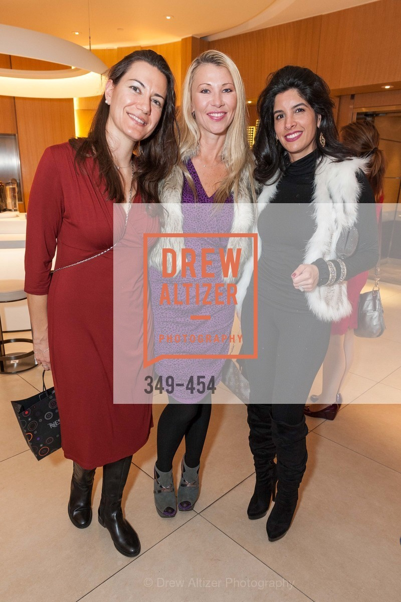 Zumra Maner, Lena Gikkas, Veronica Rivas Tramontozzi, 2014 SAN FRANCISCO BALLET ENCORE! Kick-Off Party, US. Nespresso Boutique Bar, 90 Grant Avenue, January 7th, 2014,Drew Altizer, Drew Altizer Photography, full-service agency, private events, San Francisco photographer, photographer california