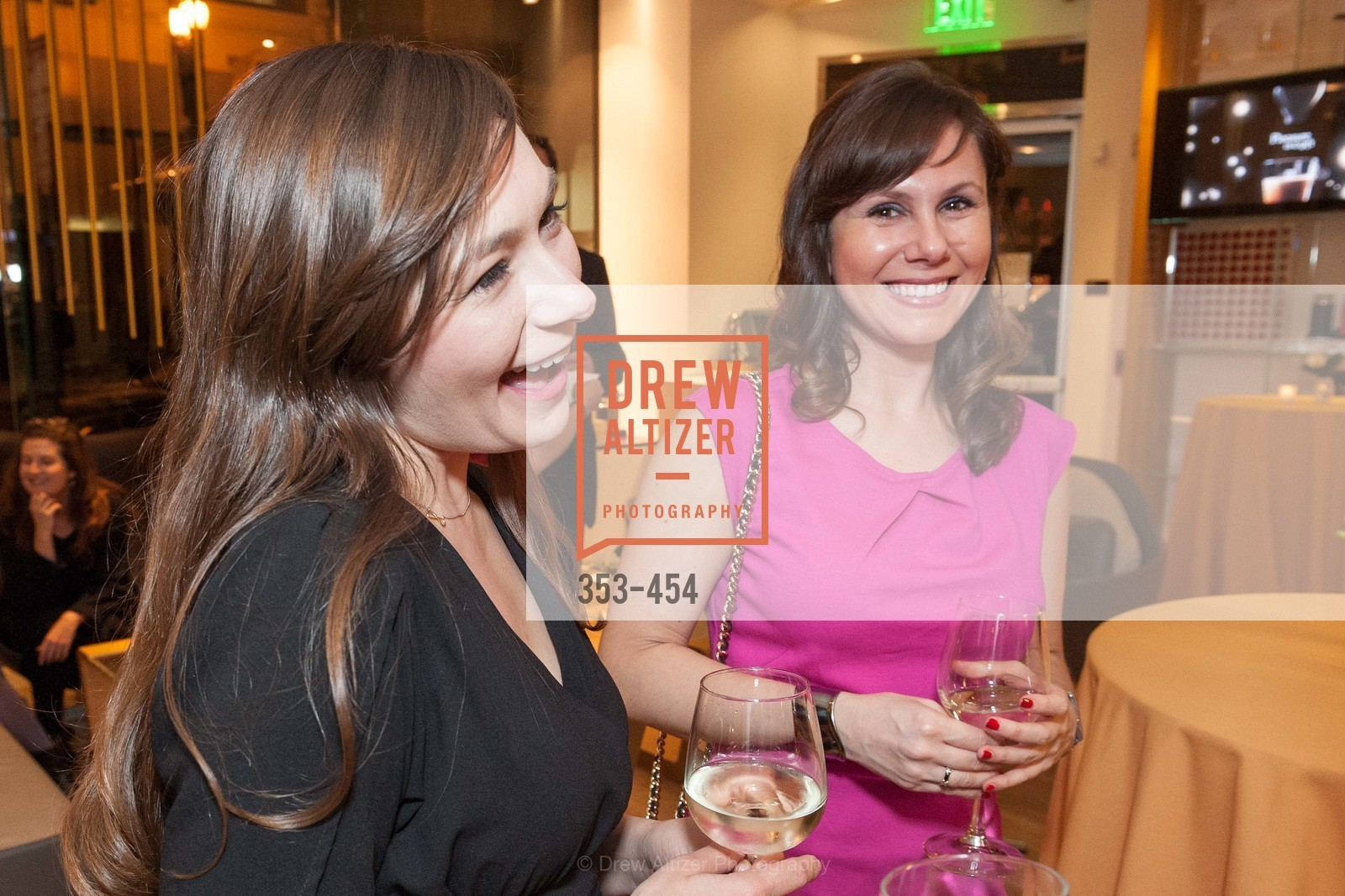 Liz Garcia, Shelly Wolf, 2014 SAN FRANCISCO BALLET ENCORE! Kick-Off Party, US. Nespresso Boutique Bar, 90 Grant Avenue, January 7th, 2014,Drew Altizer, Drew Altizer Photography, full-service agency, private events, San Francisco photographer, photographer california
