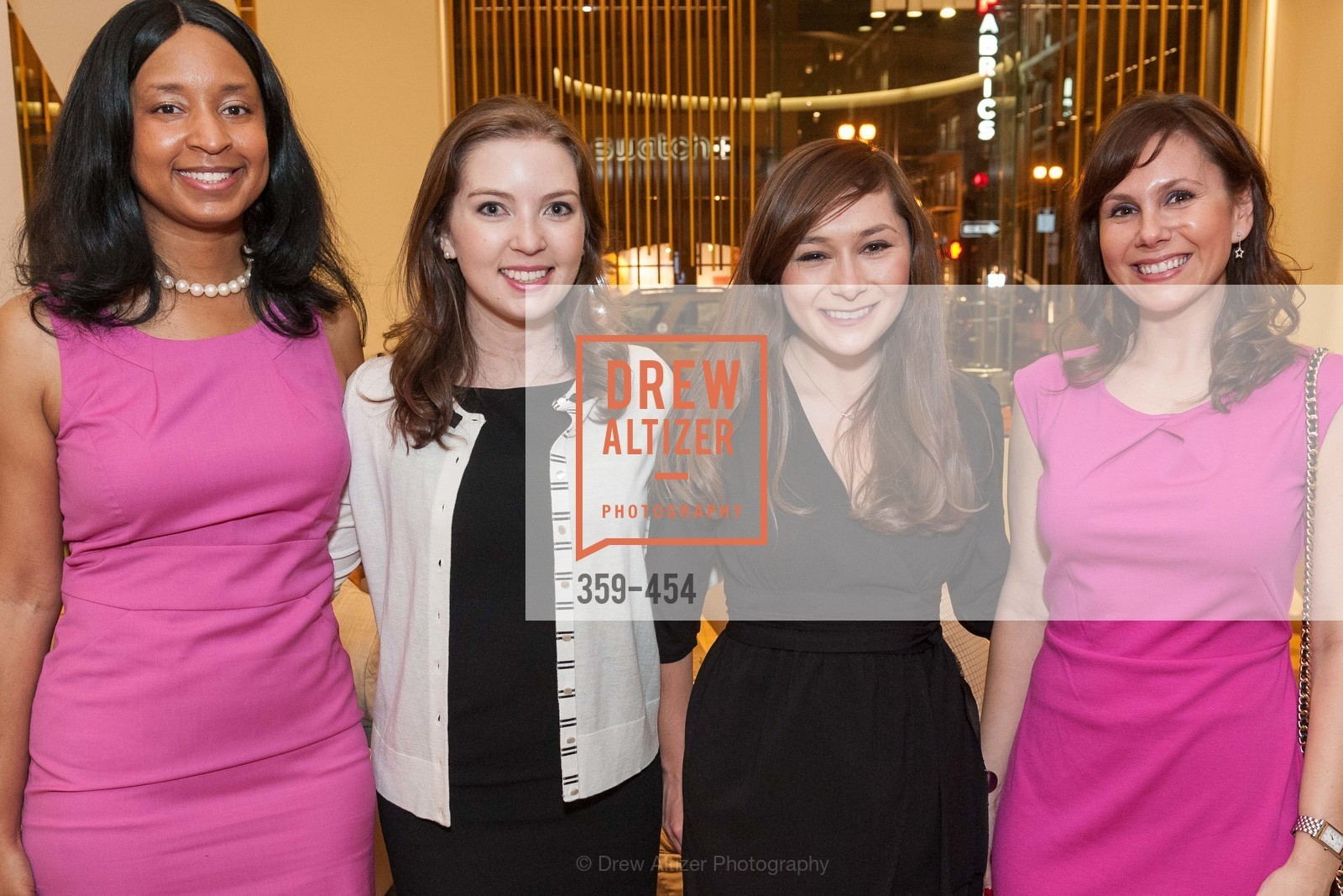 Britt Eason, Emily Fulmer, Liz Garcia, Shelly Wolf, 2014 SAN FRANCISCO BALLET ENCORE! Kick-Off Party, US. Nespresso Boutique Bar, 90 Grant Avenue, January 7th, 2014,Drew Altizer, Drew Altizer Photography, full-service agency, private events, San Francisco photographer, photographer california
