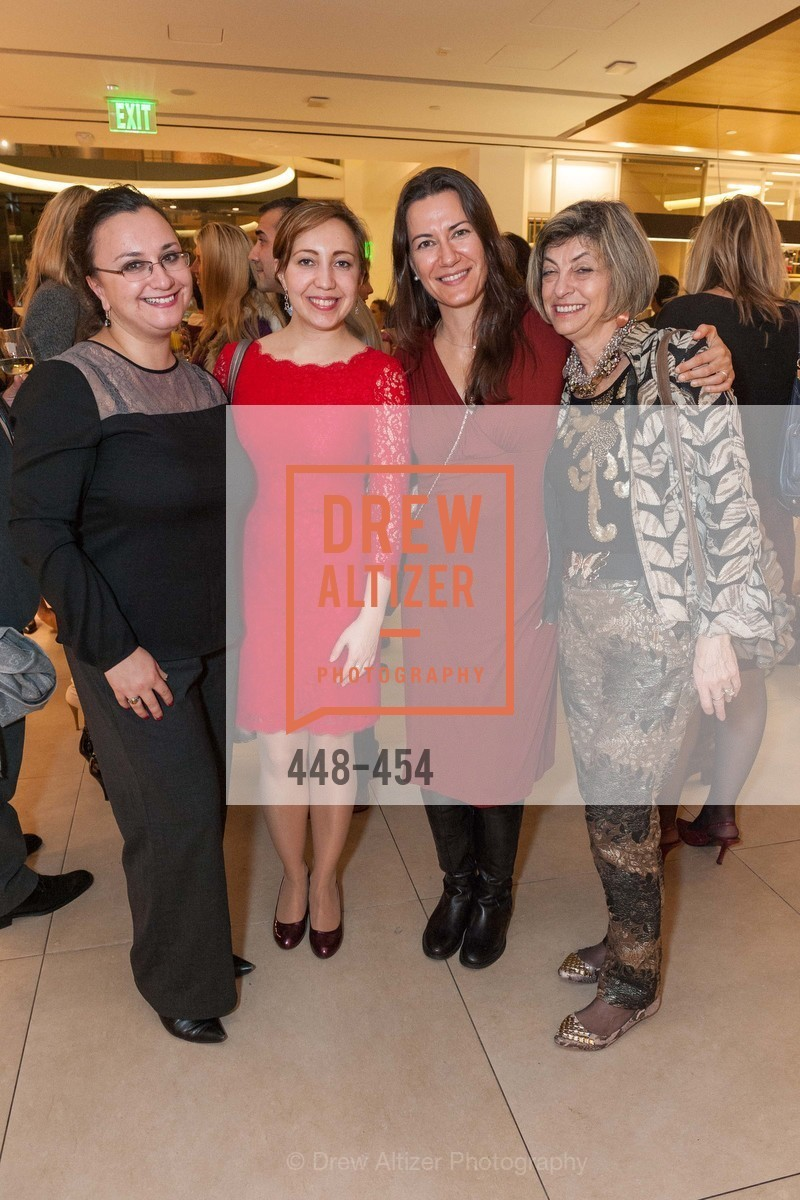 Maria Gertsvolf, Marina Regan, Zumra Maner, Ludmila Eggleton, 2014 SAN FRANCISCO BALLET ENCORE! Kick-Off Party, US. Nespresso Boutique Bar, 90 Grant Avenue, January 7th, 2014,Drew Altizer, Drew Altizer Photography, full-service agency, private events, San Francisco photographer, photographer california