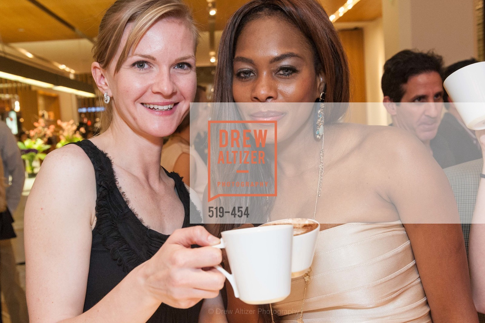 Greer Goings, Vanessa Jean Baptiste, 2014 SAN FRANCISCO BALLET ENCORE! Kick-Off Party, US. Nespresso Boutique Bar, 90 Grant Avenue, January 7th, 2014,Drew Altizer, Drew Altizer Photography, full-service agency, private events, San Francisco photographer, photographer california