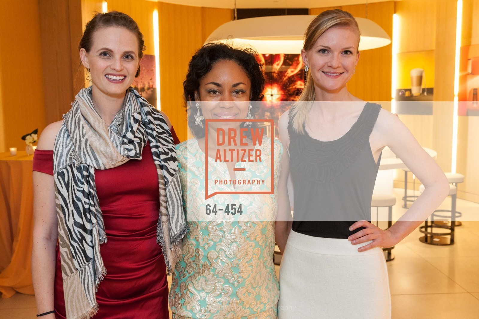 Alyson Blume, Tanya Powell, Greer Goings, 2014 SAN FRANCISCO BALLET ENCORE! Kick-Off Party, US. Nespresso Boutique Bar, 90 Grant Avenue, January 7th, 2014,Drew Altizer, Drew Altizer Photography, full-service agency, private events, San Francisco photographer, photographer california
