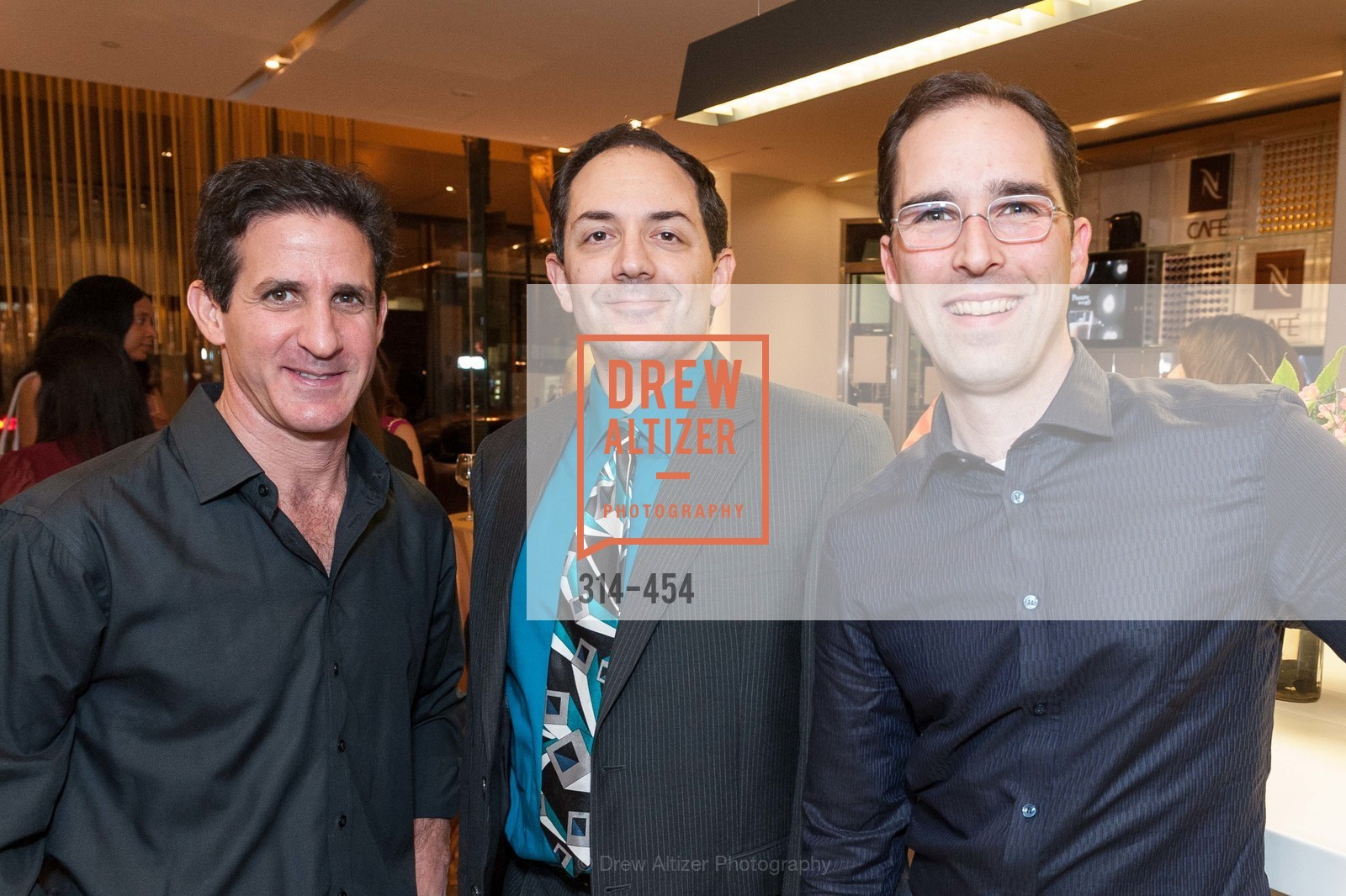Adam Thaler, Tony Alfidi, PM Wagner, 2014 SAN FRANCISCO BALLET ENCORE! Kick-Off Party, US. Nespresso Boutique Bar, 90 Grant Avenue, January 7th, 2014,Drew Altizer, Drew Altizer Photography, full-service event agency, private events, San Francisco photographer, photographer California