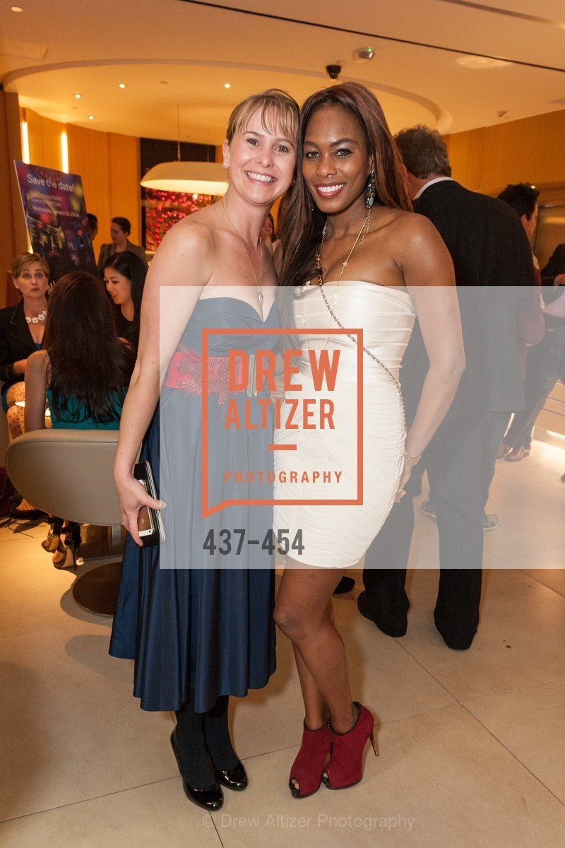 Kelly Cramer, Vanessa Jean Baptiste, 2014 SAN FRANCISCO BALLET ENCORE! Kick-Off Party, US. Nespresso Boutique Bar, 90 Grant Avenue, January 7th, 2014,Drew Altizer, Drew Altizer Photography, full-service agency, private events, San Francisco photographer, photographer california