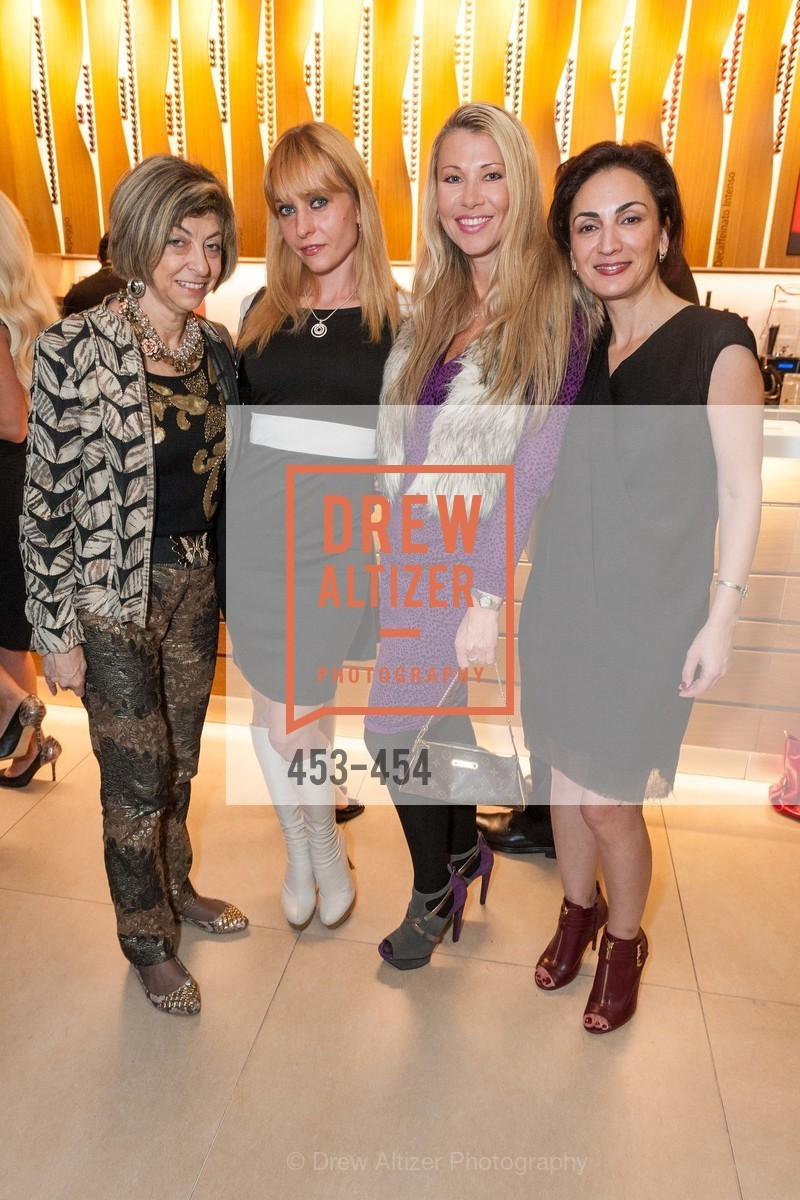 Ludmila Eggleton, Irina Kondratenko, Lena Gikkas, Irina Bragin, 2014 SAN FRANCISCO BALLET ENCORE! Kick-Off Party, US. Nespresso Boutique Bar, 90 Grant Avenue, January 7th, 2014,Drew Altizer, Drew Altizer Photography, full-service agency, private events, San Francisco photographer, photographer california