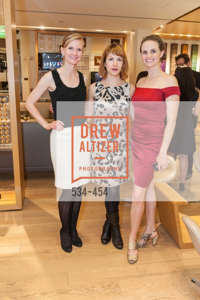 Greer Goings, Alyson Blume, 2014 SAN FRANCISCO BALLET ENCORE! Kick-Off Party, US. Nespresso Boutique Bar, 90 Grant Avenue, January 7th, 2014,Drew Altizer, Drew Altizer Photography, full-service agency, private events, San Francisco photographer, photographer california