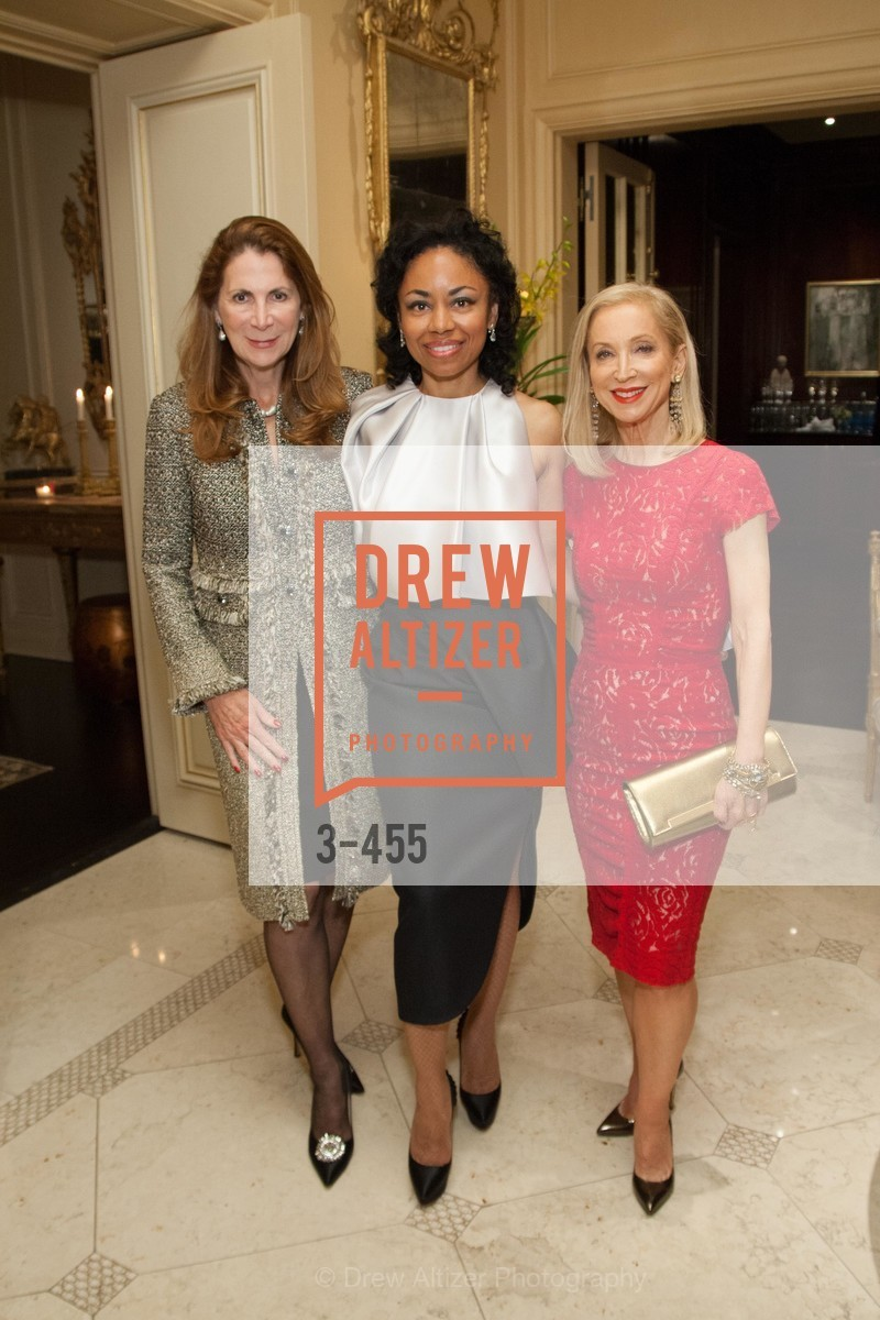 Patricia Ferrin Loucks, Tanya Powell, Shelley Gordon, SAN FRANCISCO BALLET Grand Benefactors Reception, US. US, January 8th, 2014,Drew Altizer, Drew Altizer Photography, full-service agency, private events, San Francisco photographer, photographer california