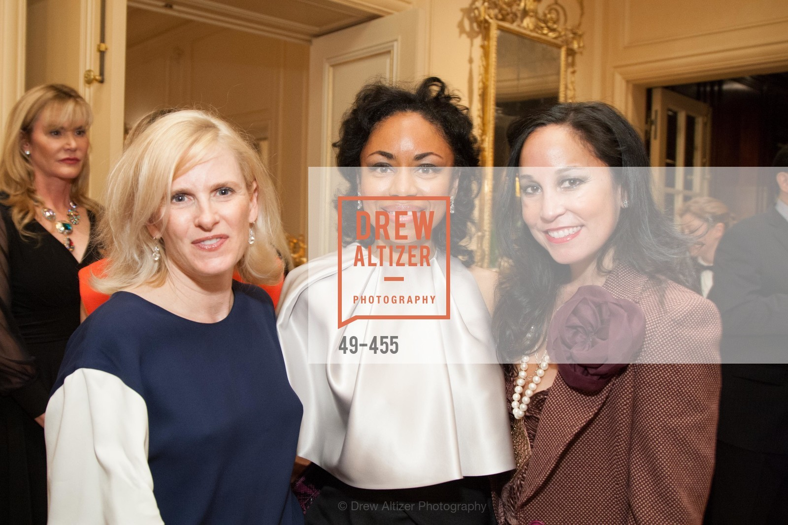 Marie Hurabiell, Tanya Powell, Michelle Molfino, SAN FRANCISCO BALLET Grand Benefactors Reception, US. US, January 8th, 2014,Drew Altizer, Drew Altizer Photography, full-service agency, private events, San Francisco photographer, photographer california