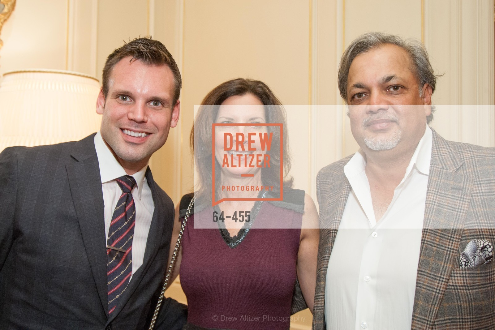 Joshua Morgan, Karen Bergman, Asim Abdullah, SAN FRANCISCO BALLET Grand Benefactors Reception, US. US, January 8th, 2014,Drew Altizer, Drew Altizer Photography, full-service agency, private events, San Francisco photographer, photographer california