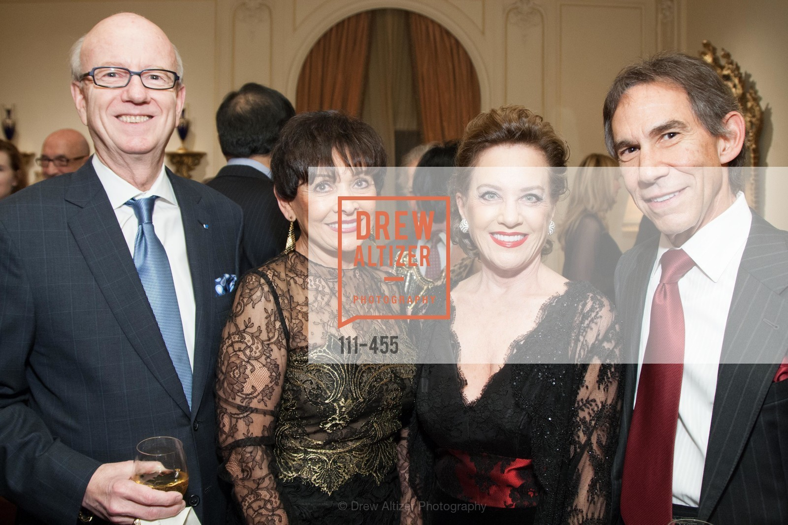 Tom Horn, Marti McMahon Diamond, Robin Collins, Stephen Diamond, SAN FRANCISCO BALLET Grand Benefactors Reception, US. US, January 8th, 2014,Drew Altizer, Drew Altizer Photography, full-service agency, private events, San Francisco photographer, photographer california