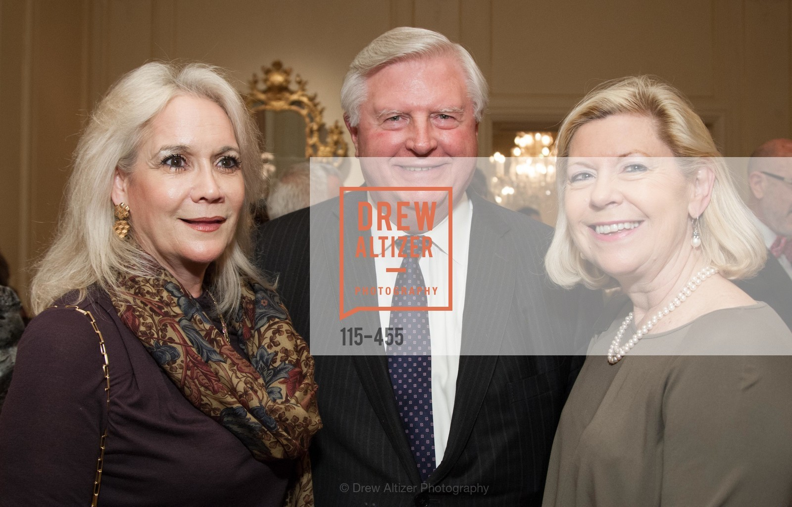 Denise Decker, Tom Decker, Amanda Wallis, SAN FRANCISCO BALLET Grand Benefactors Reception, US. US, January 8th, 2014,Drew Altizer, Drew Altizer Photography, full-service agency, private events, San Francisco photographer, photographer california