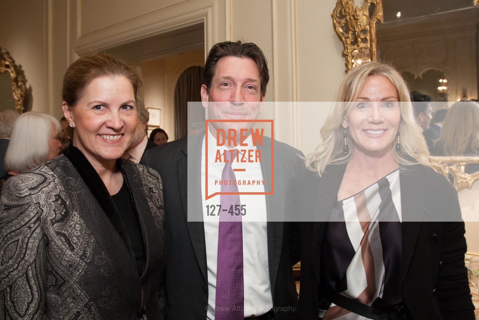Jackie Erdman, Bill Yelle, Rosemary Baker, SAN FRANCISCO BALLET Grand Benefactors Reception, US. US, January 8th, 2014,Drew Altizer, Drew Altizer Photography, full-service agency, private events, San Francisco photographer, photographer california