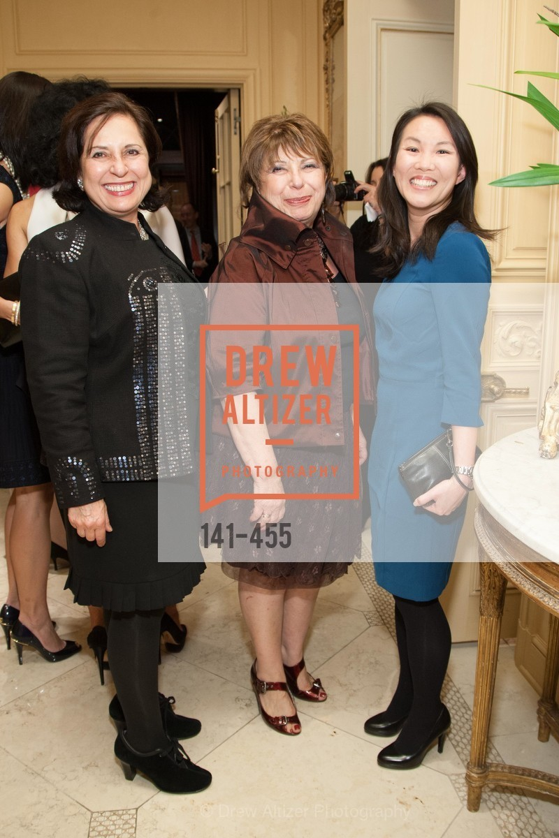 Dena Aslanian-Williams, Iren Jenny, Jasmine Yep, SAN FRANCISCO BALLET Grand Benefactors Reception, US. US, January 8th, 2014,Drew Altizer, Drew Altizer Photography, full-service agency, private events, San Francisco photographer, photographer california