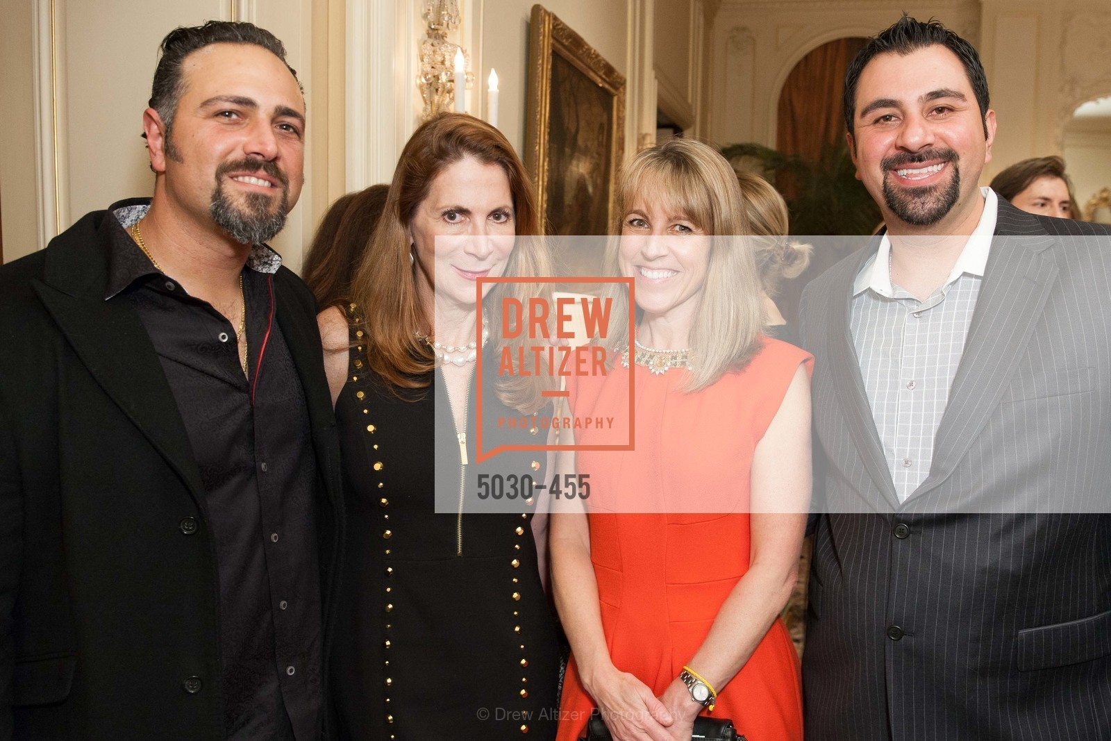 Elias Swakjian, Patricia Ferrin Loucks, Nora Feeley, Paul Abolmoluki, SAN FRANCISCO BALLET Grand Benefactors Reception, US. US, January 8th, 2014,Drew Altizer, Drew Altizer Photography, full-service agency, private events, San Francisco photographer, photographer california