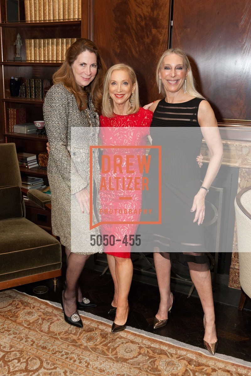 Patricia Ferrin Loucks, Shelley Gordon, Betsy Linder, SAN FRANCISCO BALLET Grand Benefactors Reception, US. US, January 8th, 2014,Drew Altizer, Drew Altizer Photography, full-service agency, private events, San Francisco photographer, photographer california