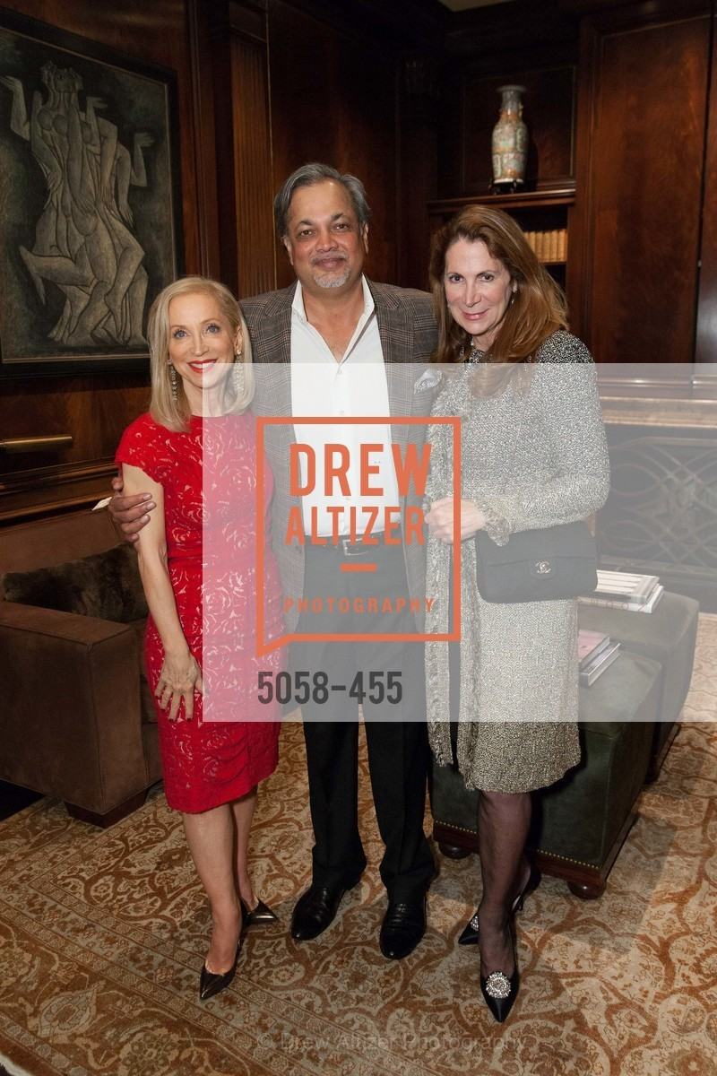 Shelley Gordon, Asim Abdullah, Patricia Ferrin Loucks, SAN FRANCISCO BALLET Grand Benefactors Reception, US. US, January 8th, 2014,Drew Altizer, Drew Altizer Photography, full-service agency, private events, San Francisco photographer, photographer california