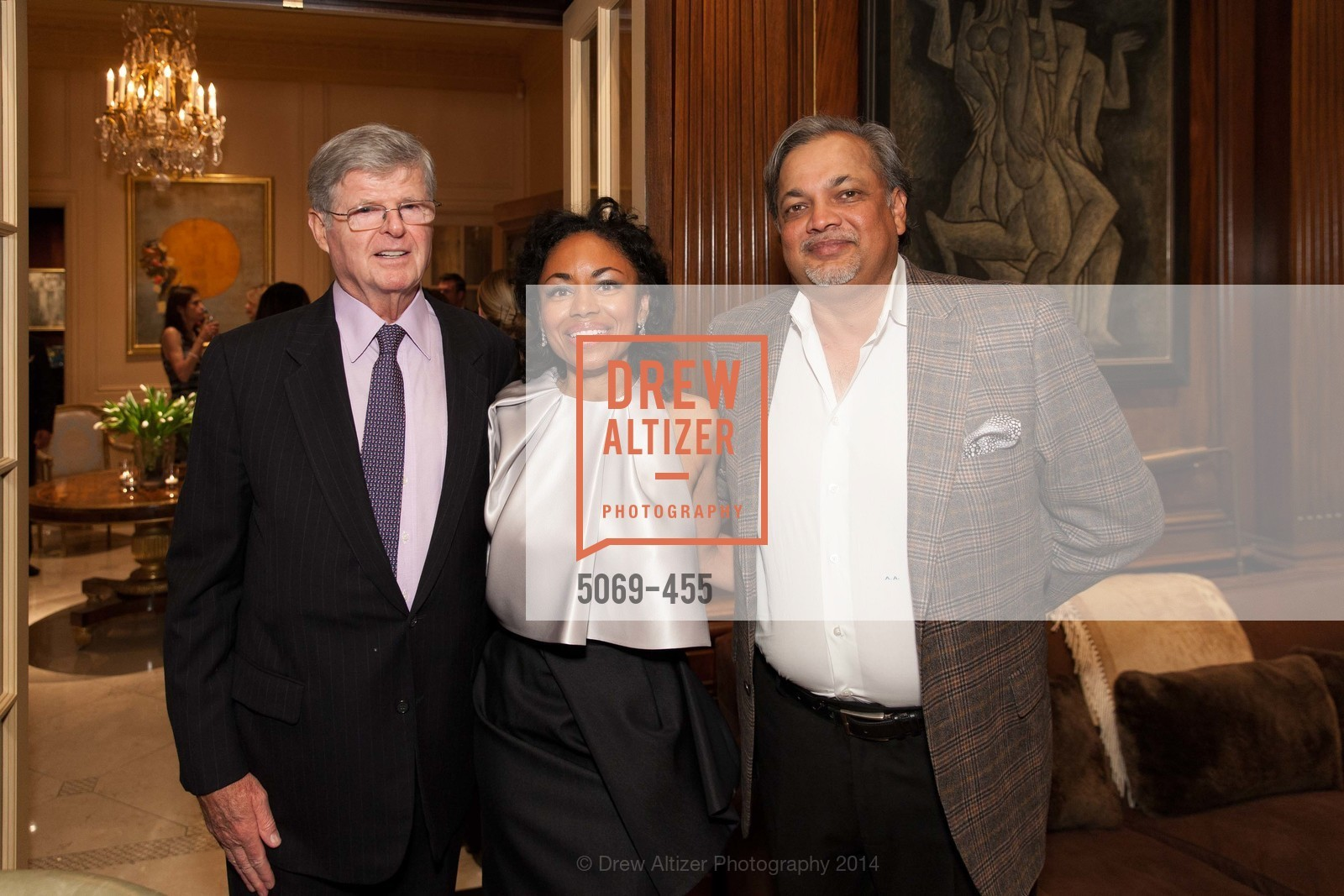 Richard Barker, Tanya Powell, Asim Abdullah, SAN FRANCISCO BALLET Grand Benefactors Reception, US. US, January 8th, 2014,Drew Altizer, Drew Altizer Photography, full-service agency, private events, San Francisco photographer, photographer california